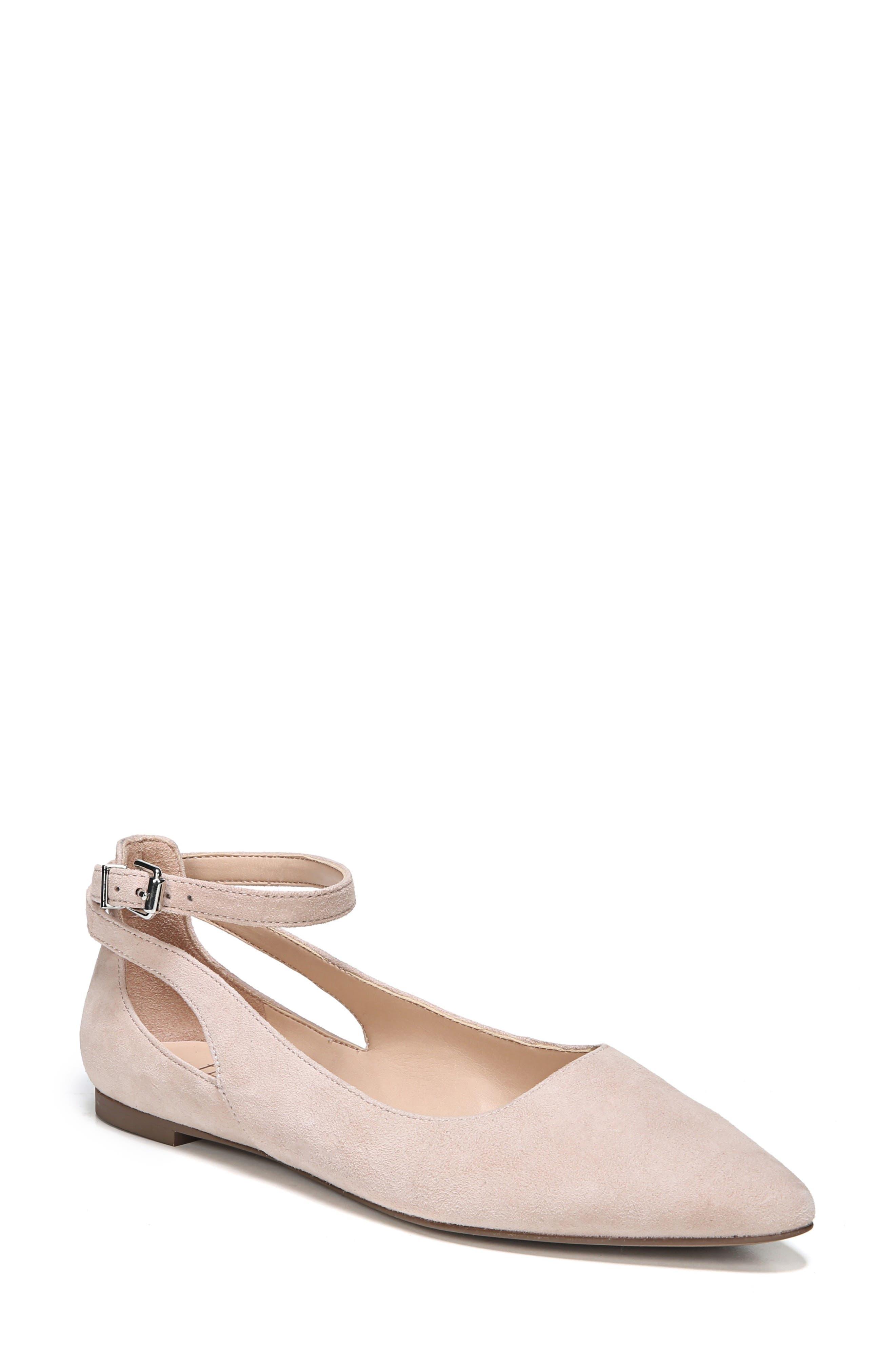 SARTO BY FRANCO SARTO Sylvia Ankle Strap Flat