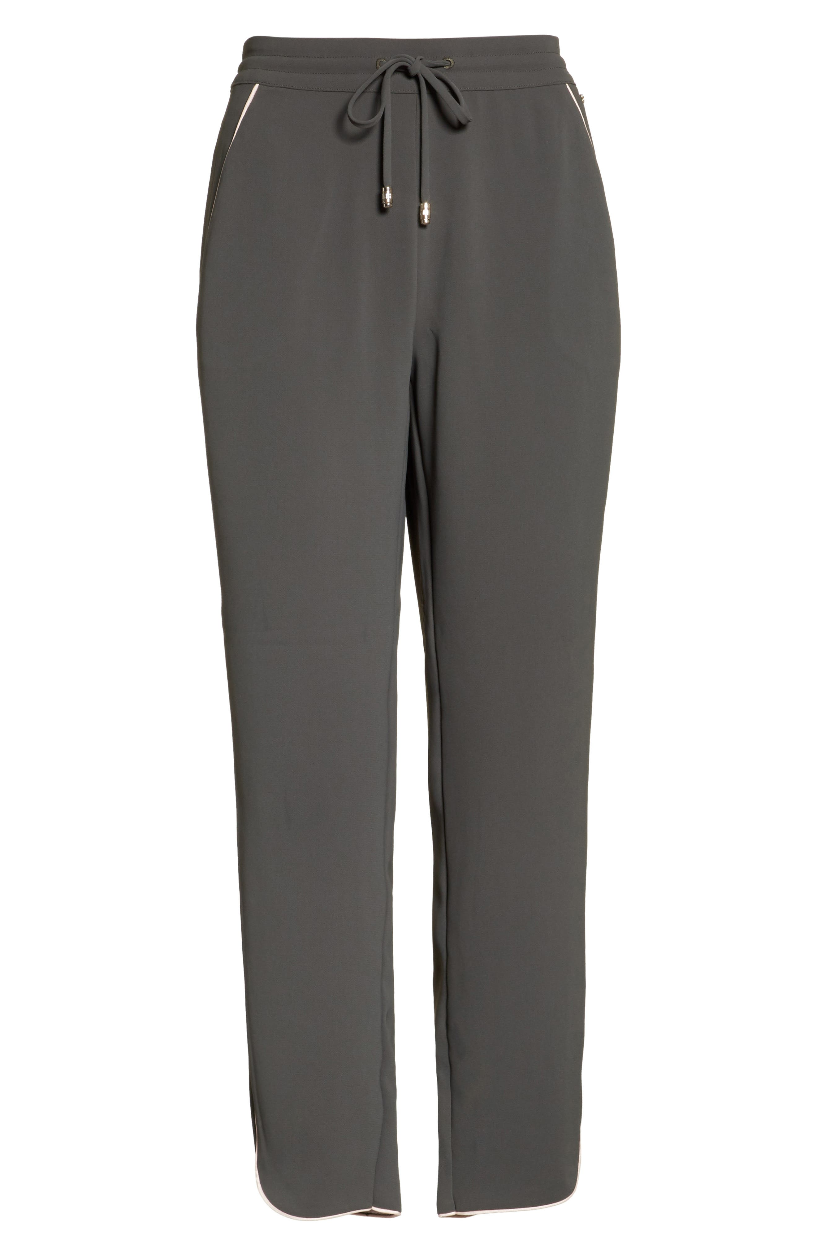 Alternate Image 6  - Ted Baker London Quenbie Piped Jogger Pants