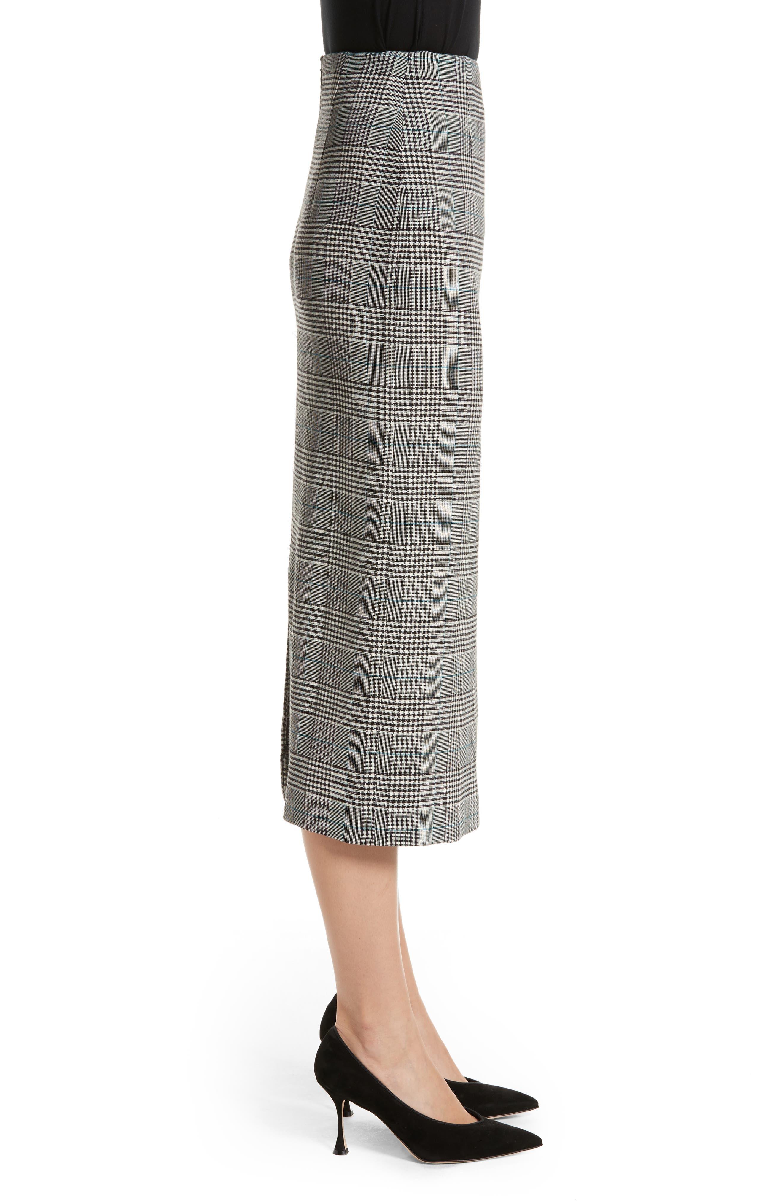 Alternate Image 3  - Victoria Beckham Prince of Wales High Waist Pencil Skirt