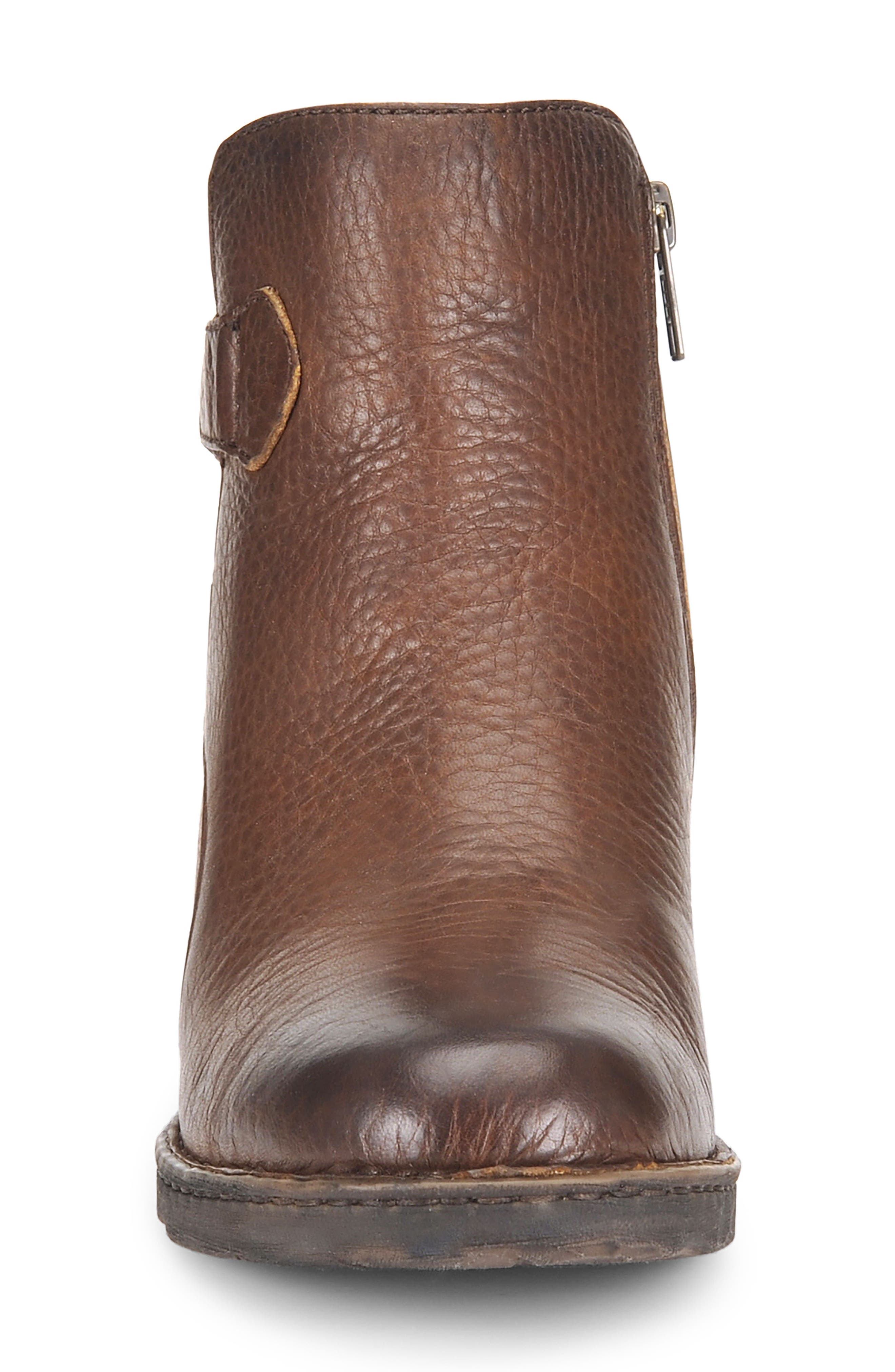 Carbine Bootie,                             Alternate thumbnail 4, color,                             Brown Leather