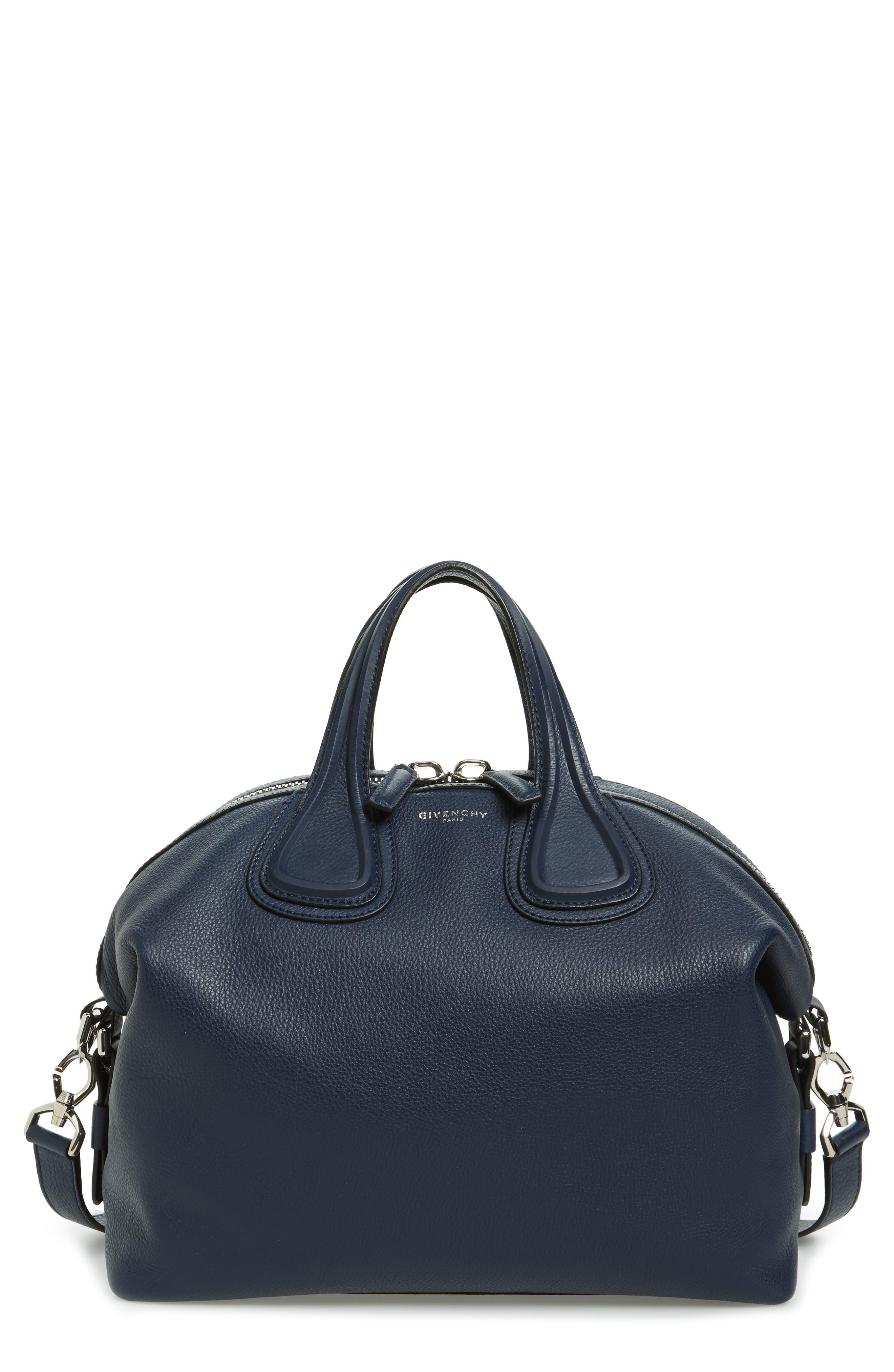 Main Image - Givenchy 'Medium Nightingale' Calfskin Leather Satchel