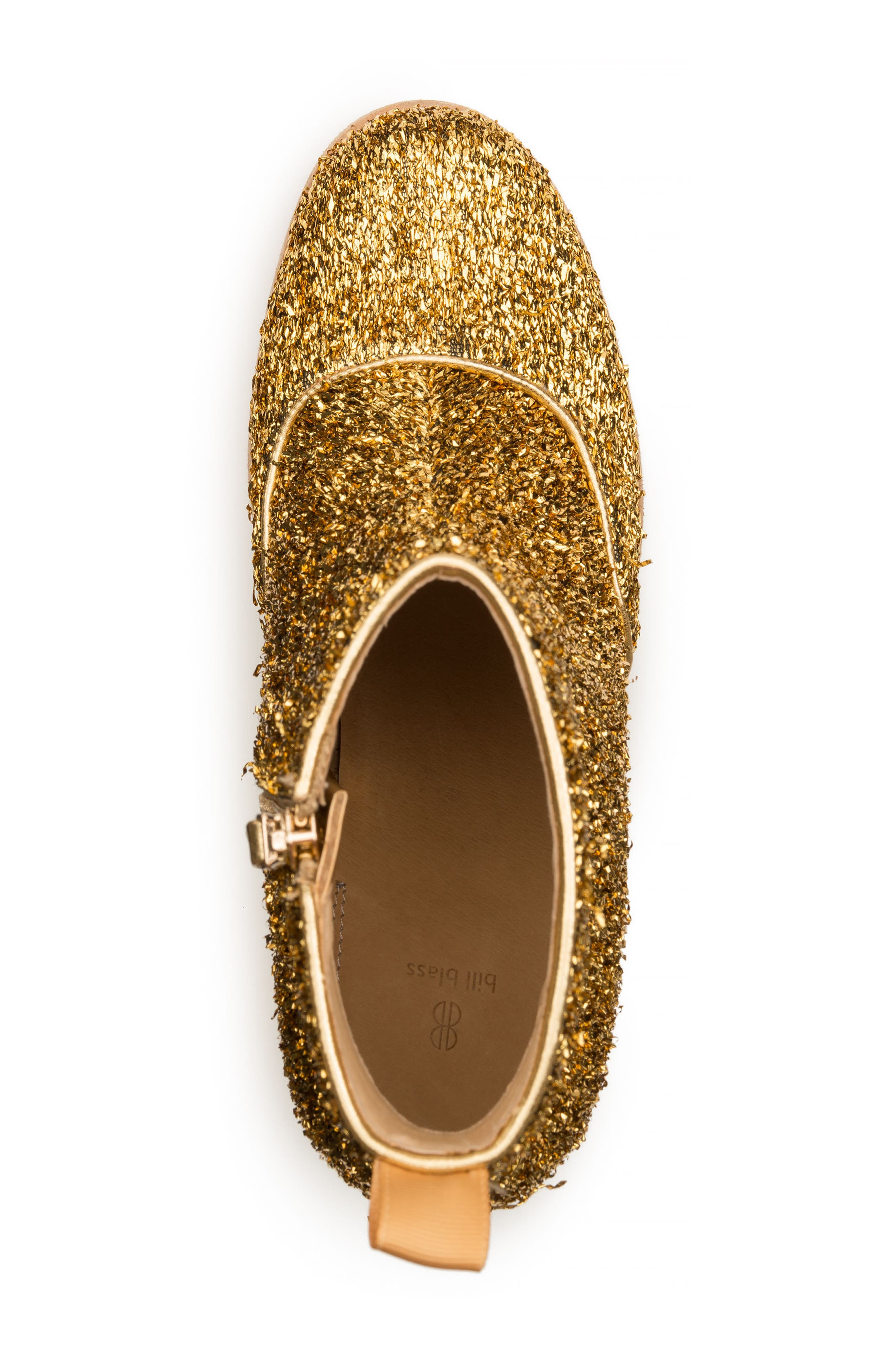 Bootie,                             Alternate thumbnail 4, color,                             Gold Tinsel Tweed