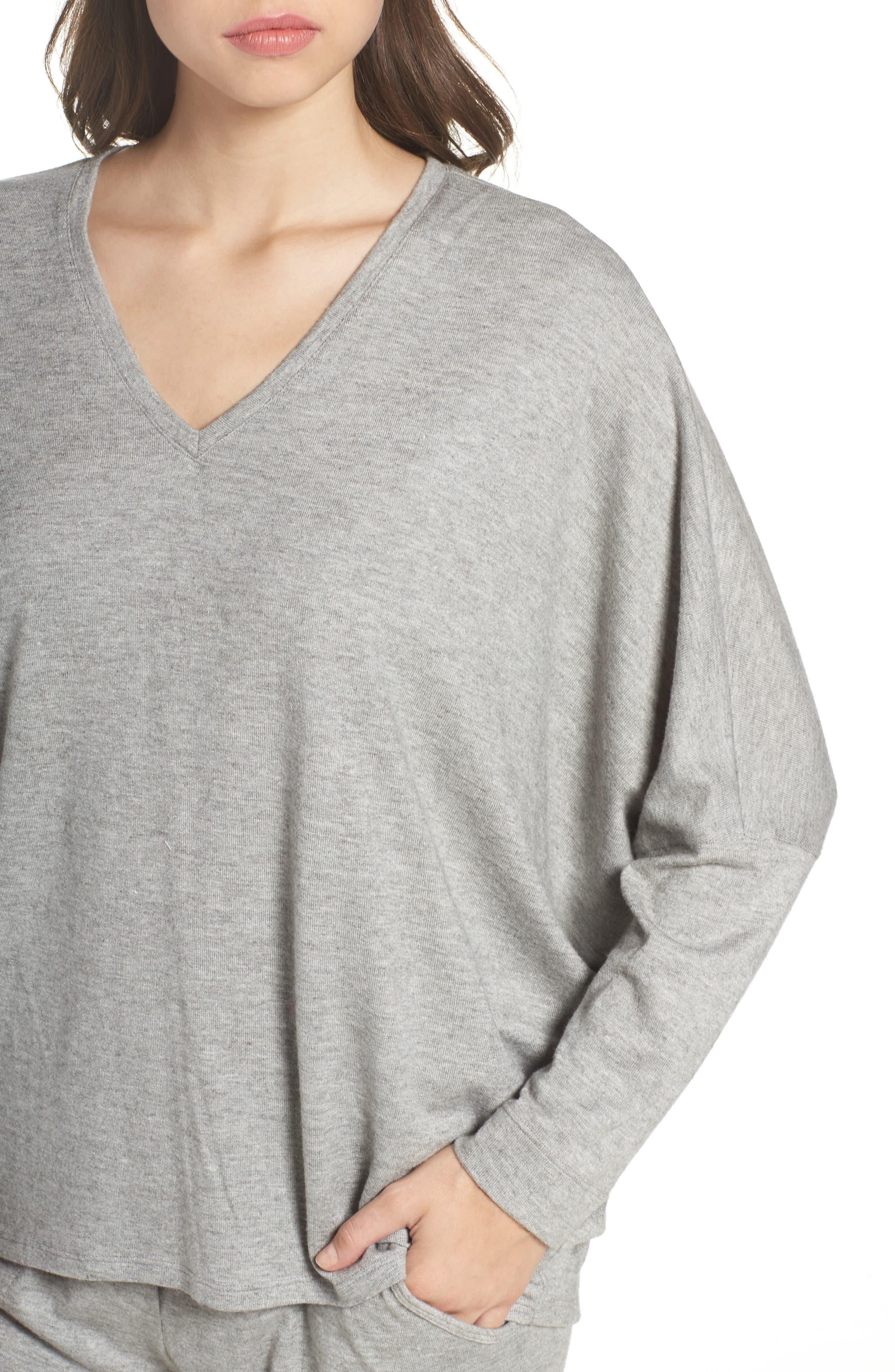 Alternate Image 6  - Natori Retreat Sweater Knit Top