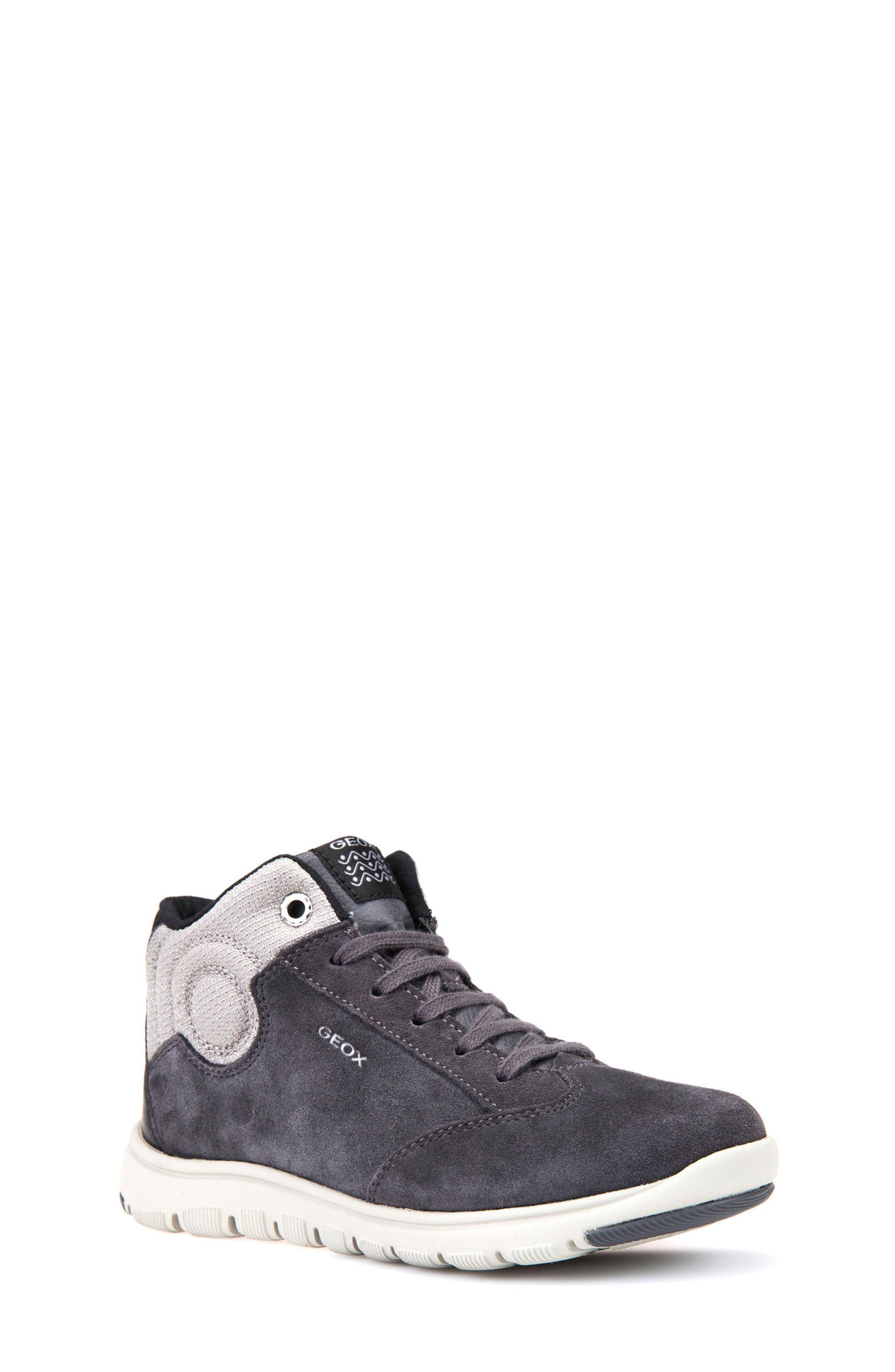 Xunday Mid Top Sneaker,                         Main,                         color, Grey/ Light Grey