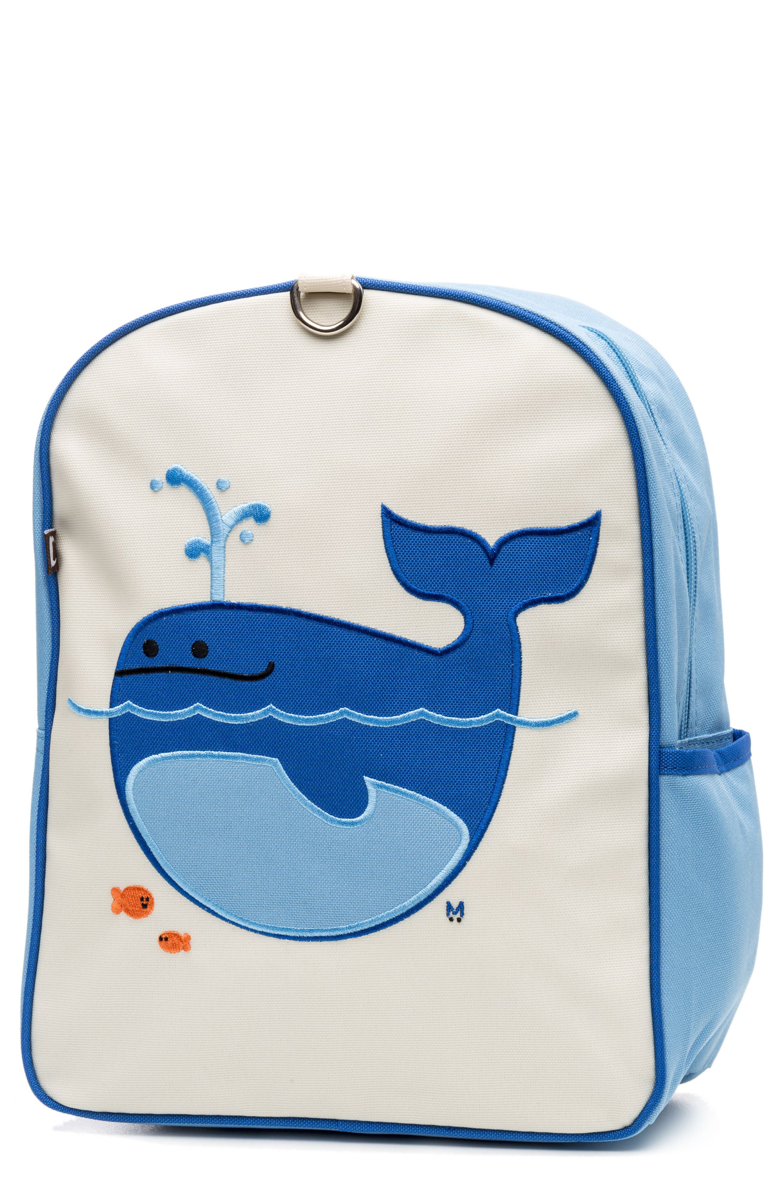 Little Kid Backpack,                         Main,                         color, Lucas The Whale