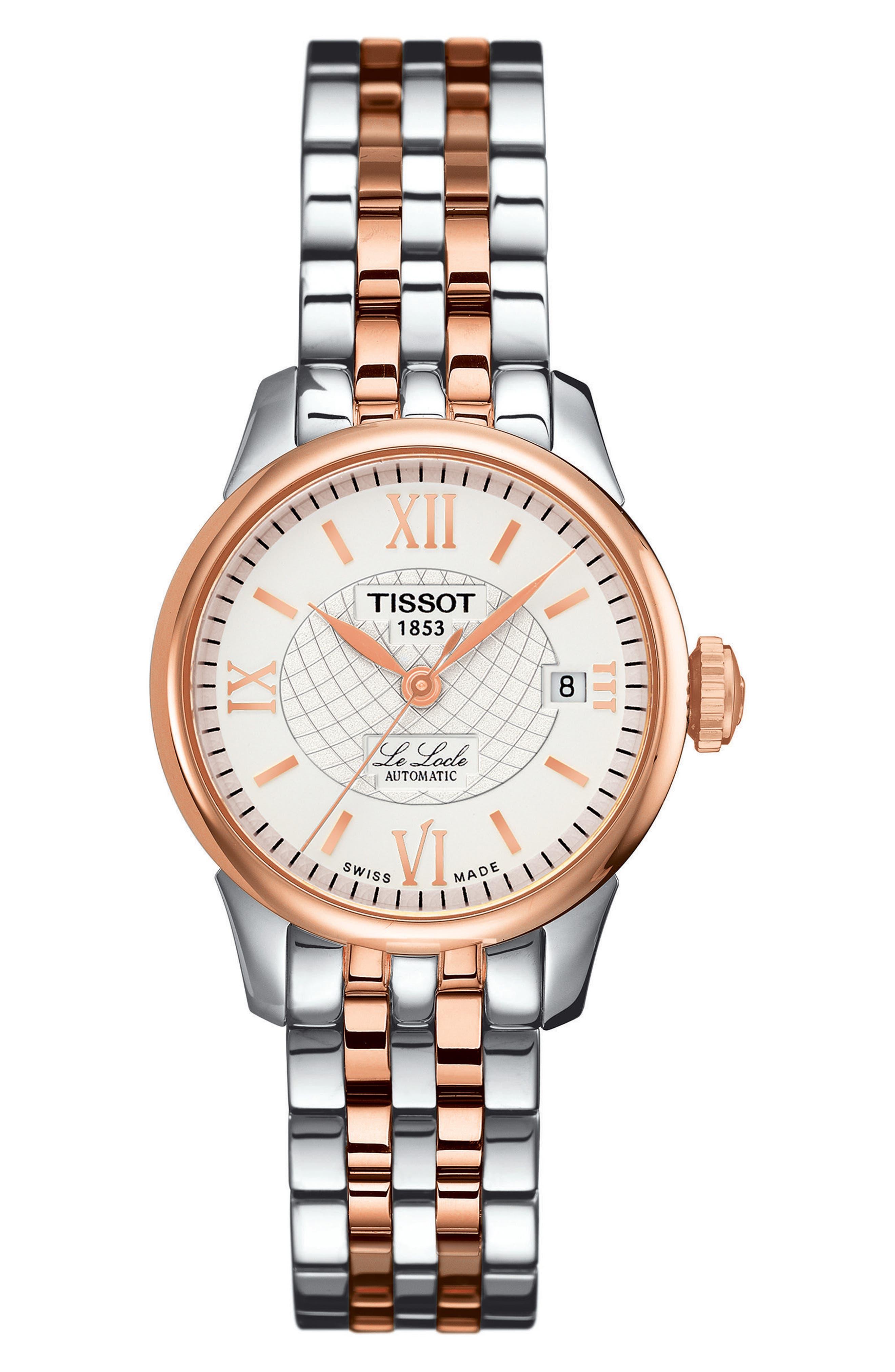 Main Image - Tissot Le Locle Automatic Bracelet Watch, 25mm