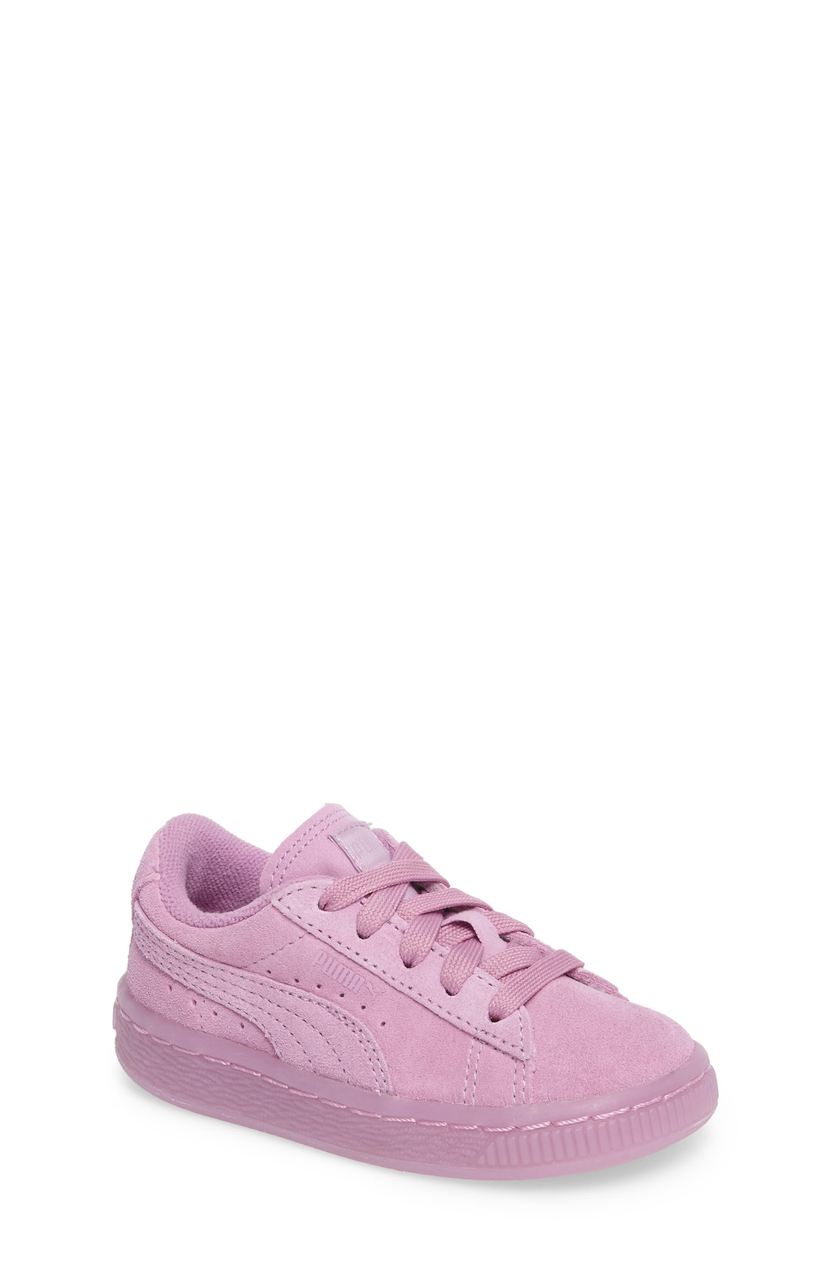 PUMA Suede Iced Sneaker (Baby, Walker & Toddler)
