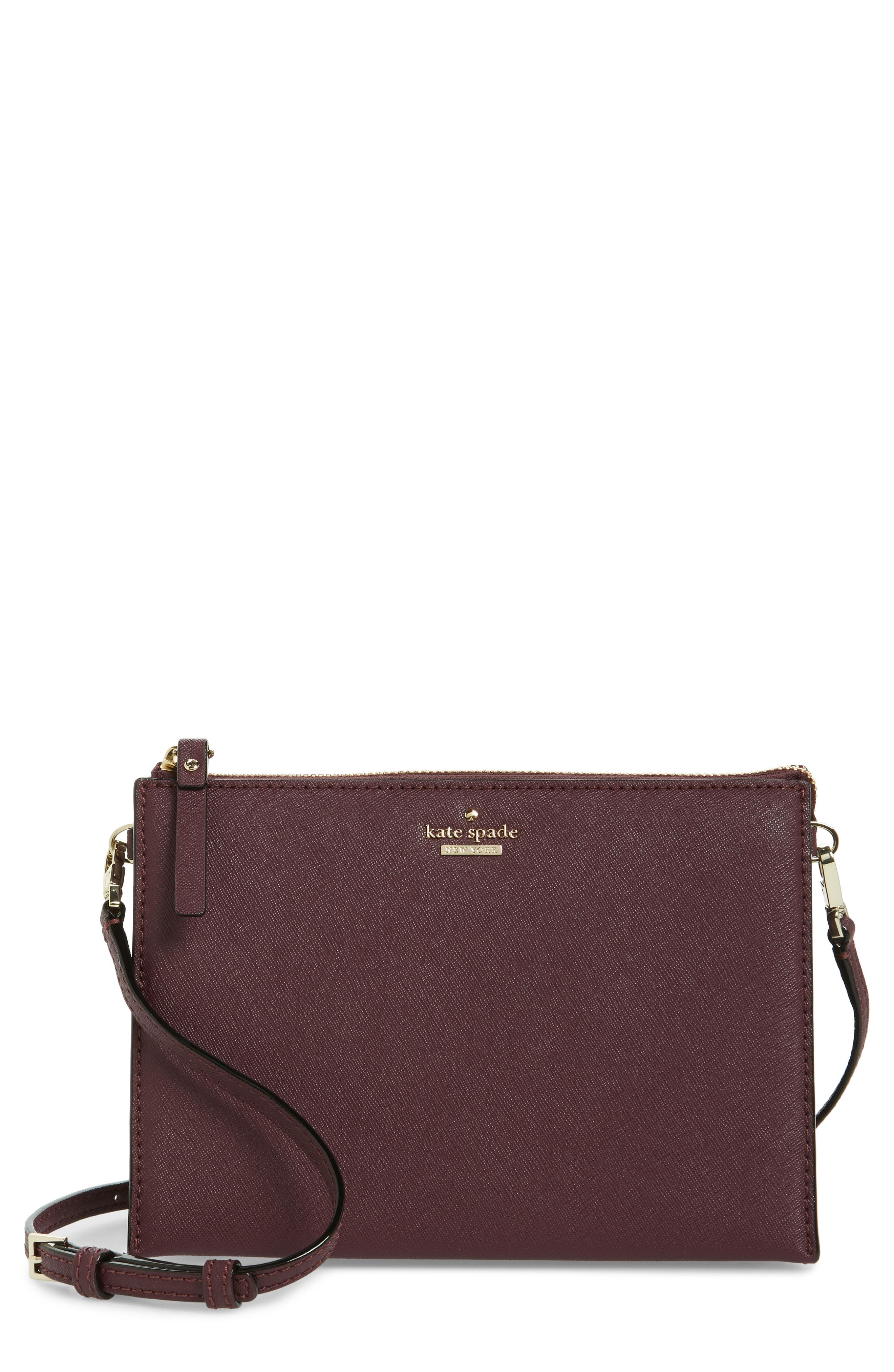 Alternate Image 1 Selected - kate spade new york cameron street - dilon leather crossbody bag