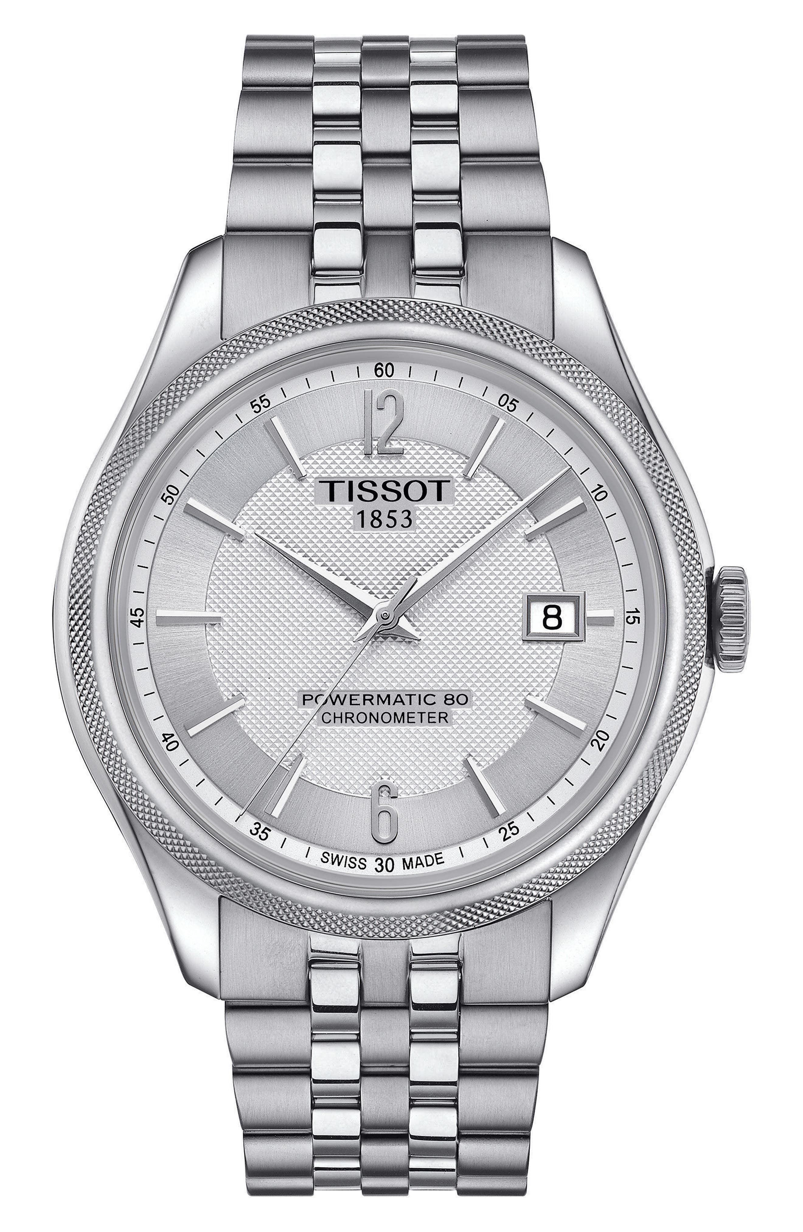 Main Image - Tissot Ballade Powermatic 80 Chronometer Bracelet Watch, 39mm x 41mm