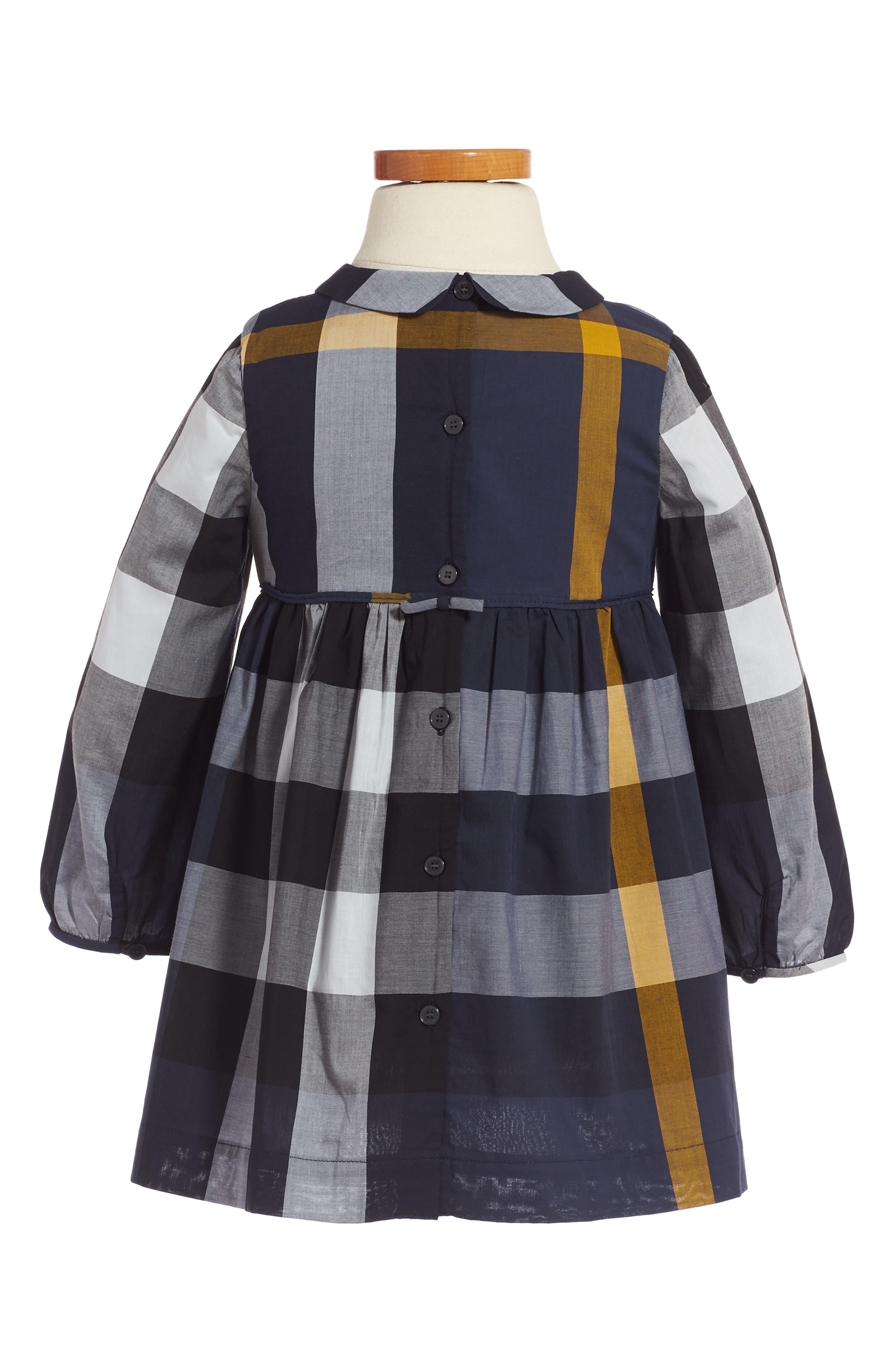 Alternate Image 2  - Burberry Liza Dress (Toddler Girls)