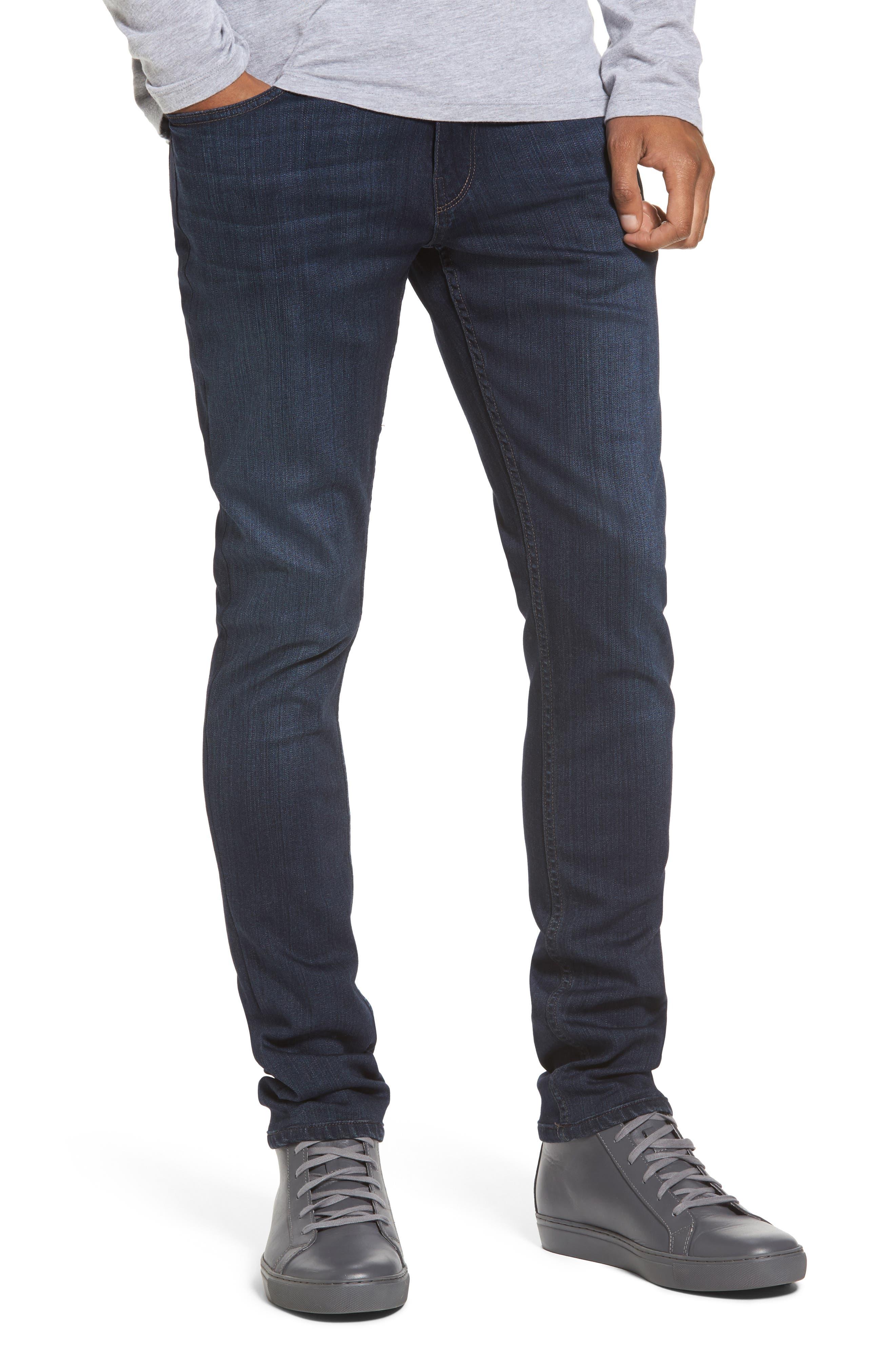 Transcend - Croft Skinny Fit Jeans,                             Main thumbnail 1, color,                             Barron