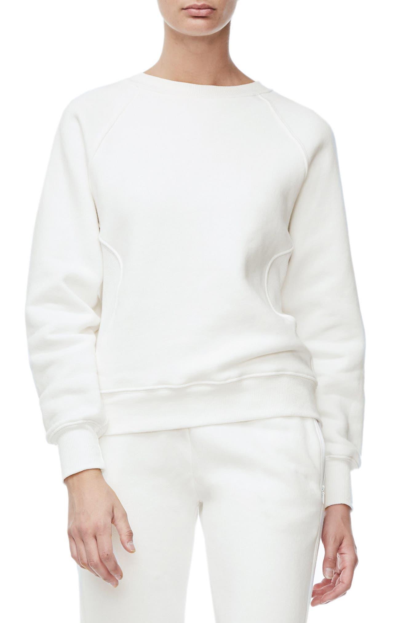 Good American Good Sweats The Not-So-Basic Crew Sweatshirt (Extended Sizes)