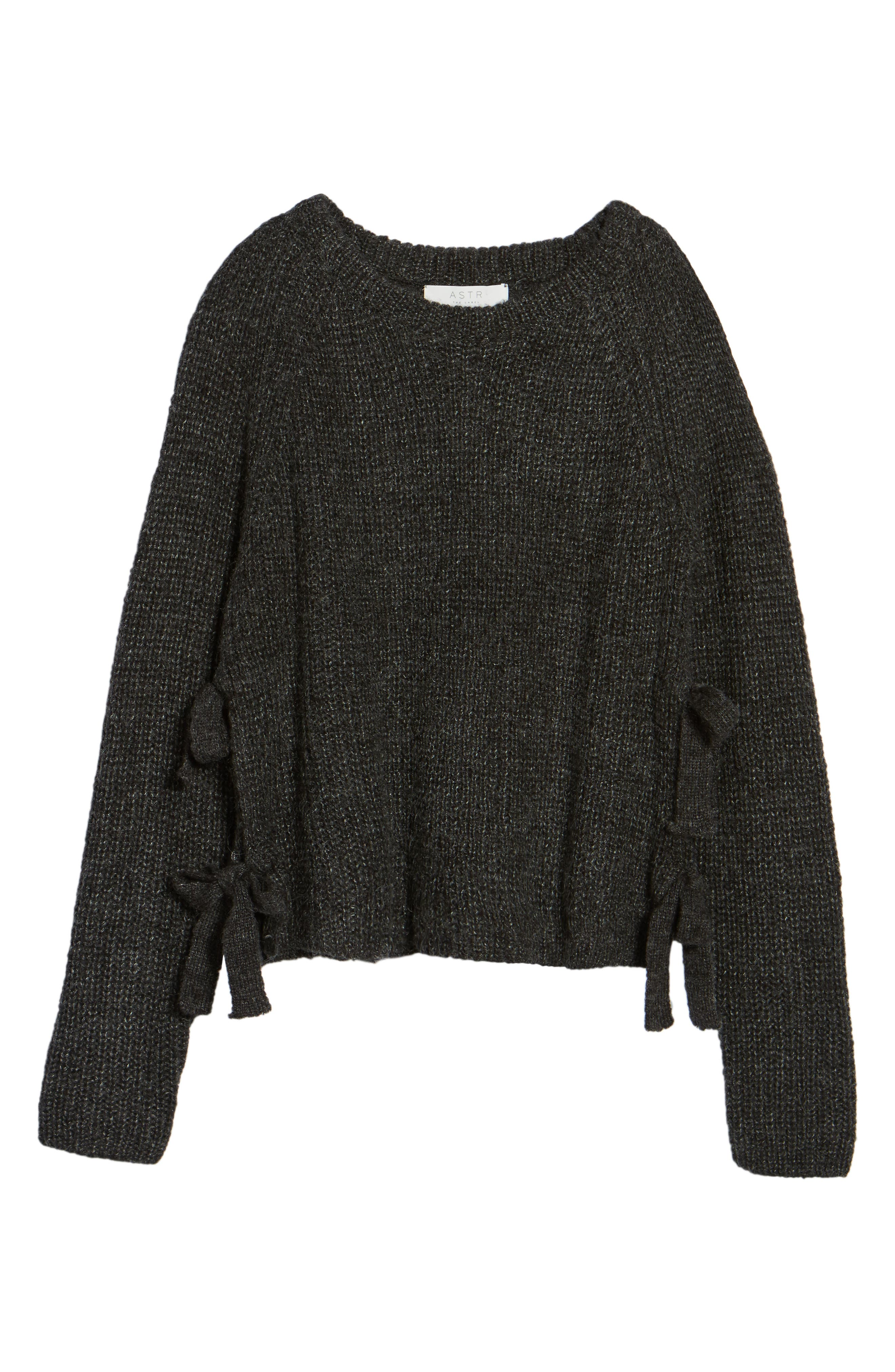 Alternate Image 5  - ASTR the Label Lexie Side Tie Sweater
