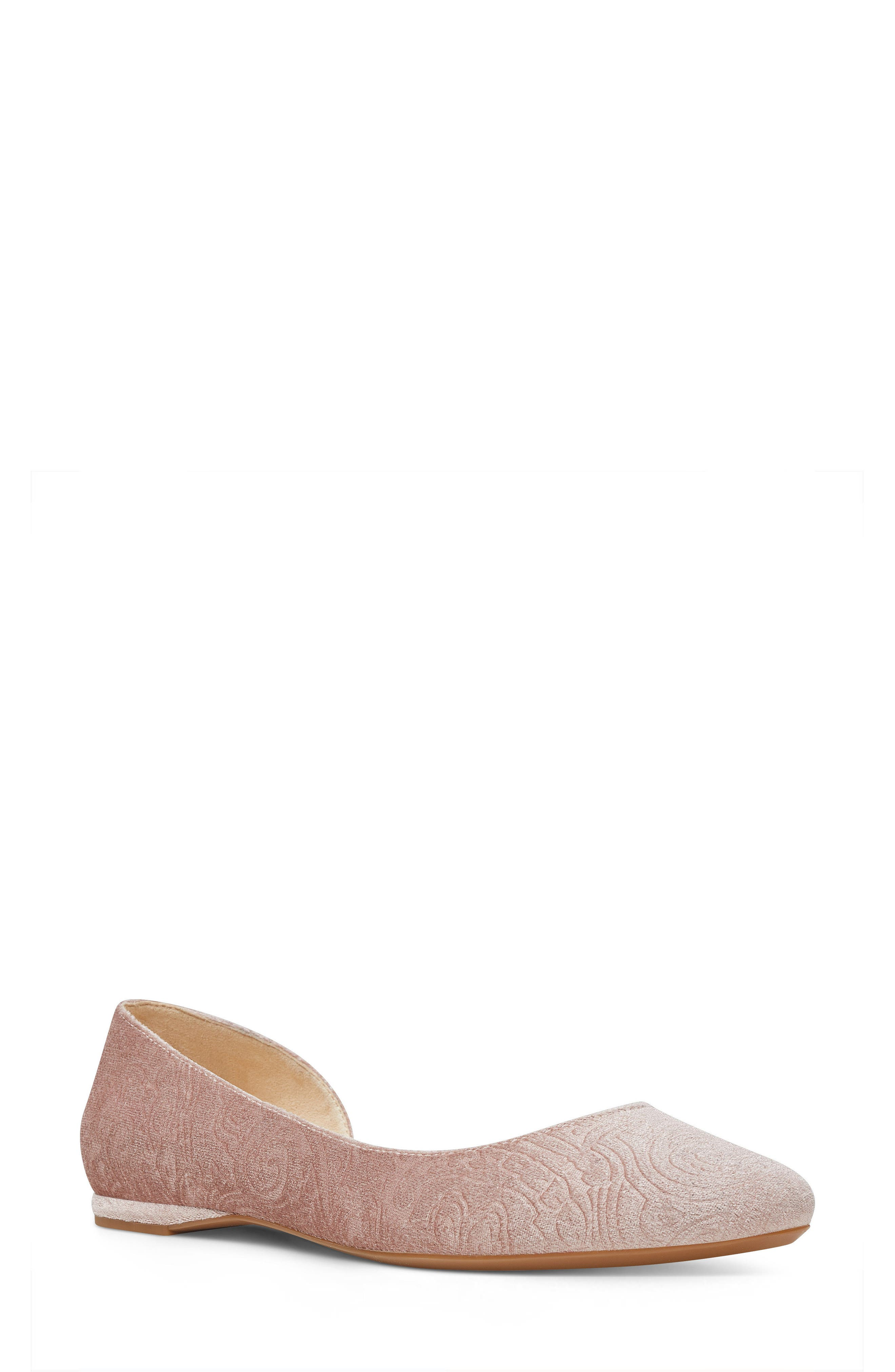 Spruce d'Orsay Flat,                         Main,                         color, Natural Fabric