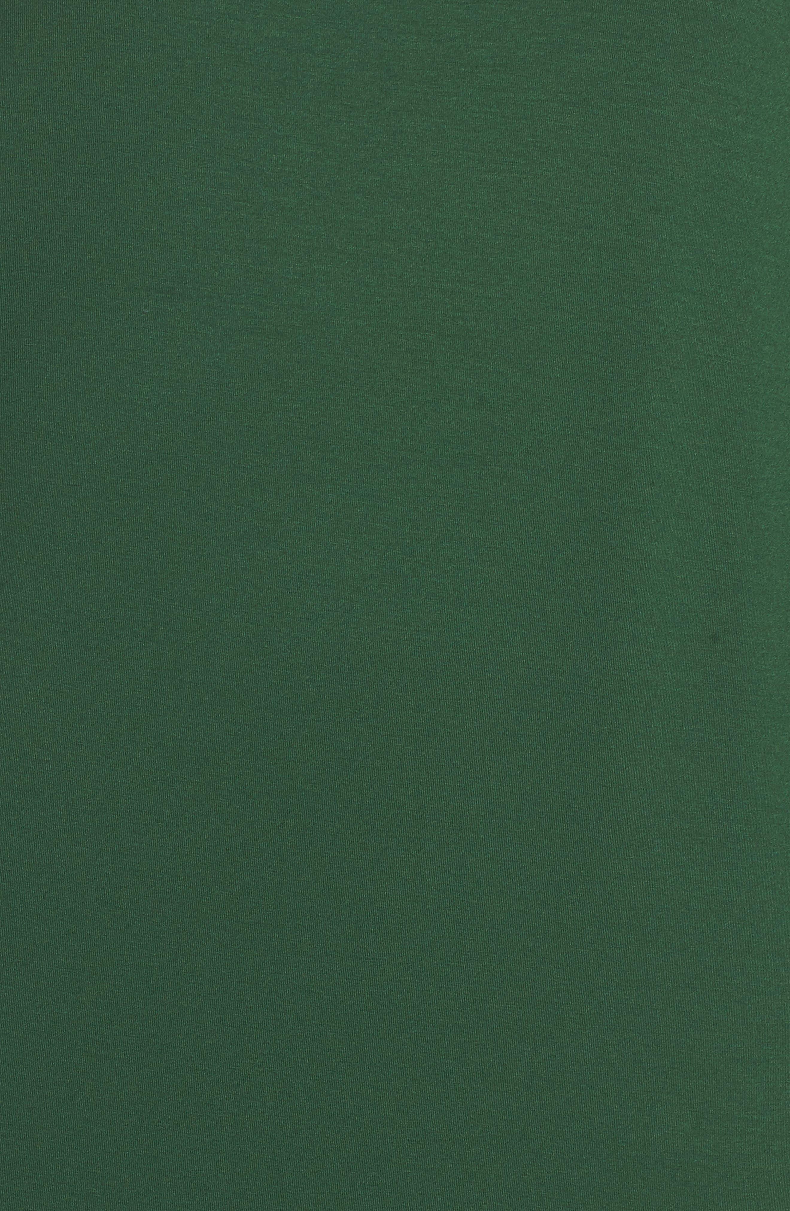 Alternate Image 5  - Eileen Fisher High/Low Jersey Shift Dress (Plus Size)