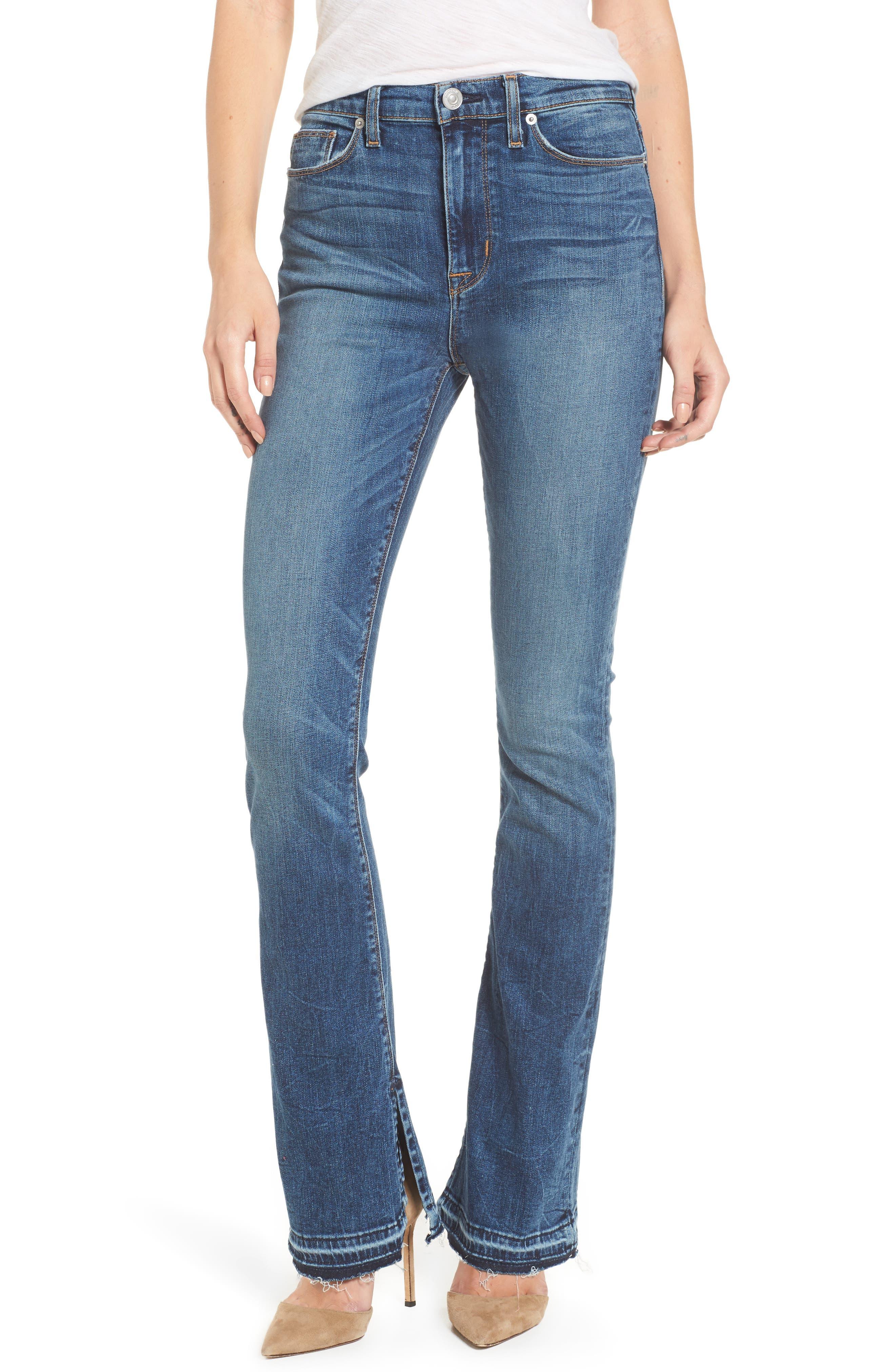 Main Image - Hudson Jeans Heartbreaker High Waist Bootcut Jeans (Split Second)