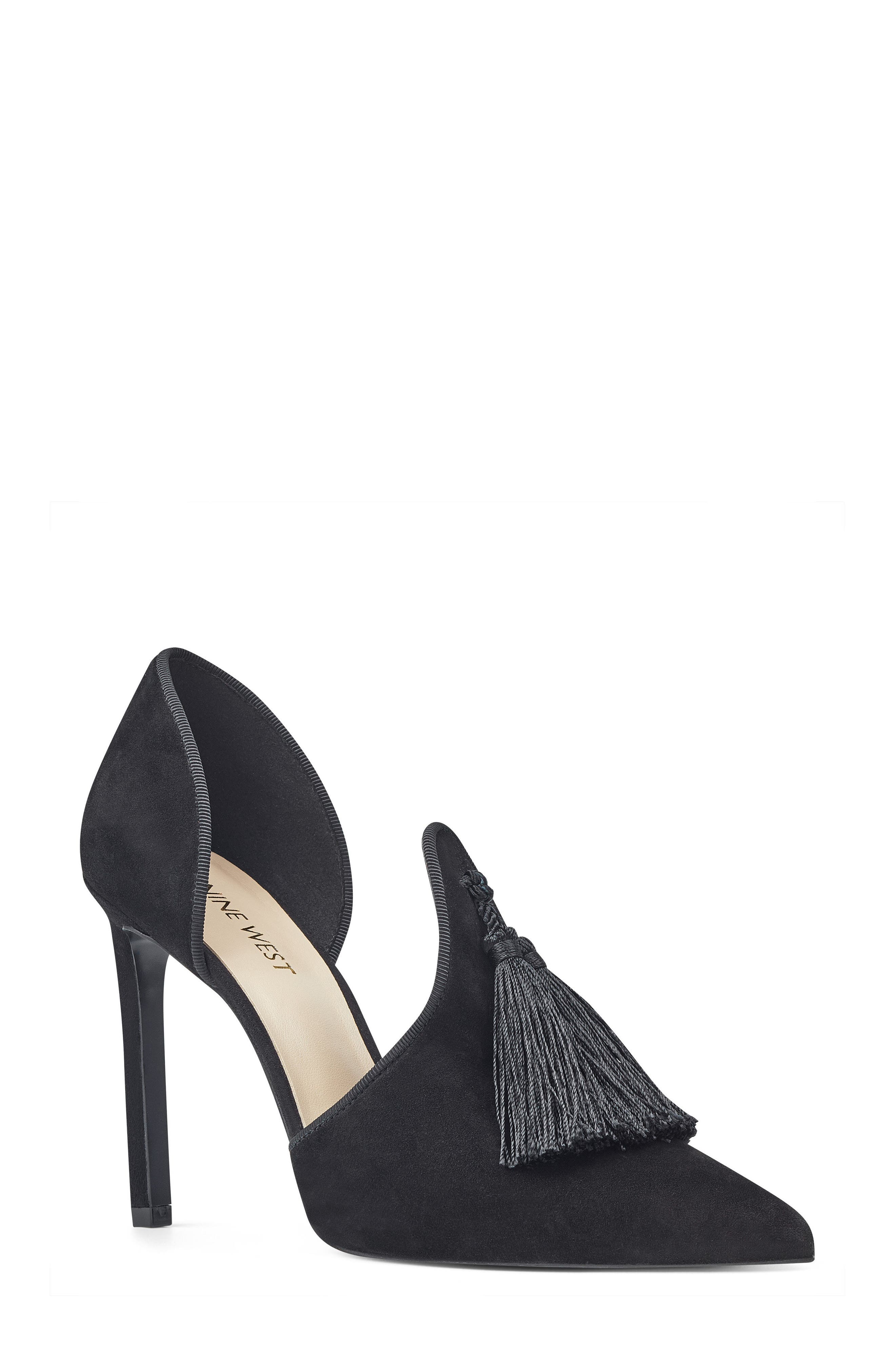 Nine West Tyrell Pointy Toe d'Orsay Pump (Women)
