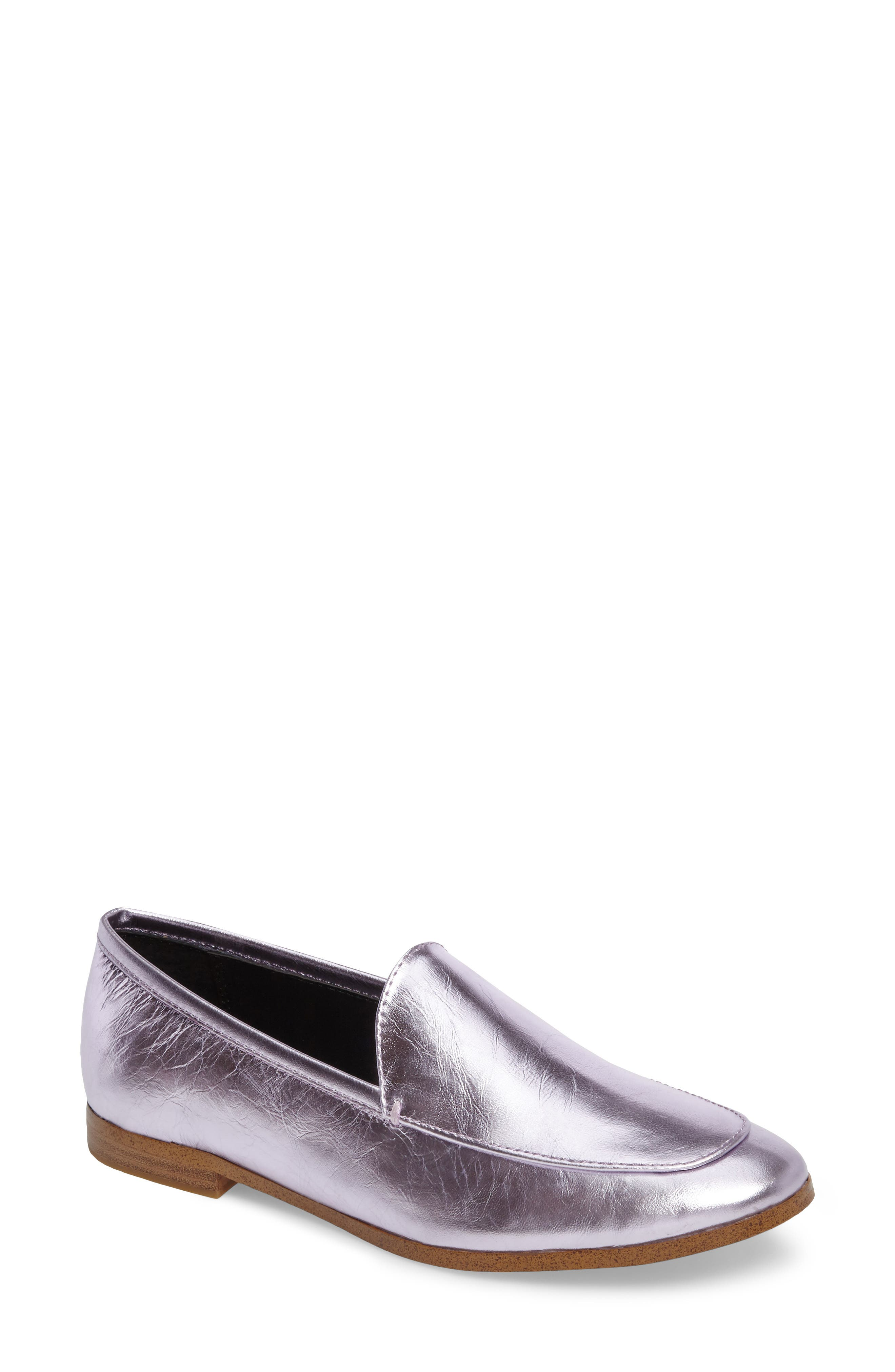 Rebecca Minkoff Dylan Metallic Loafer (Women)