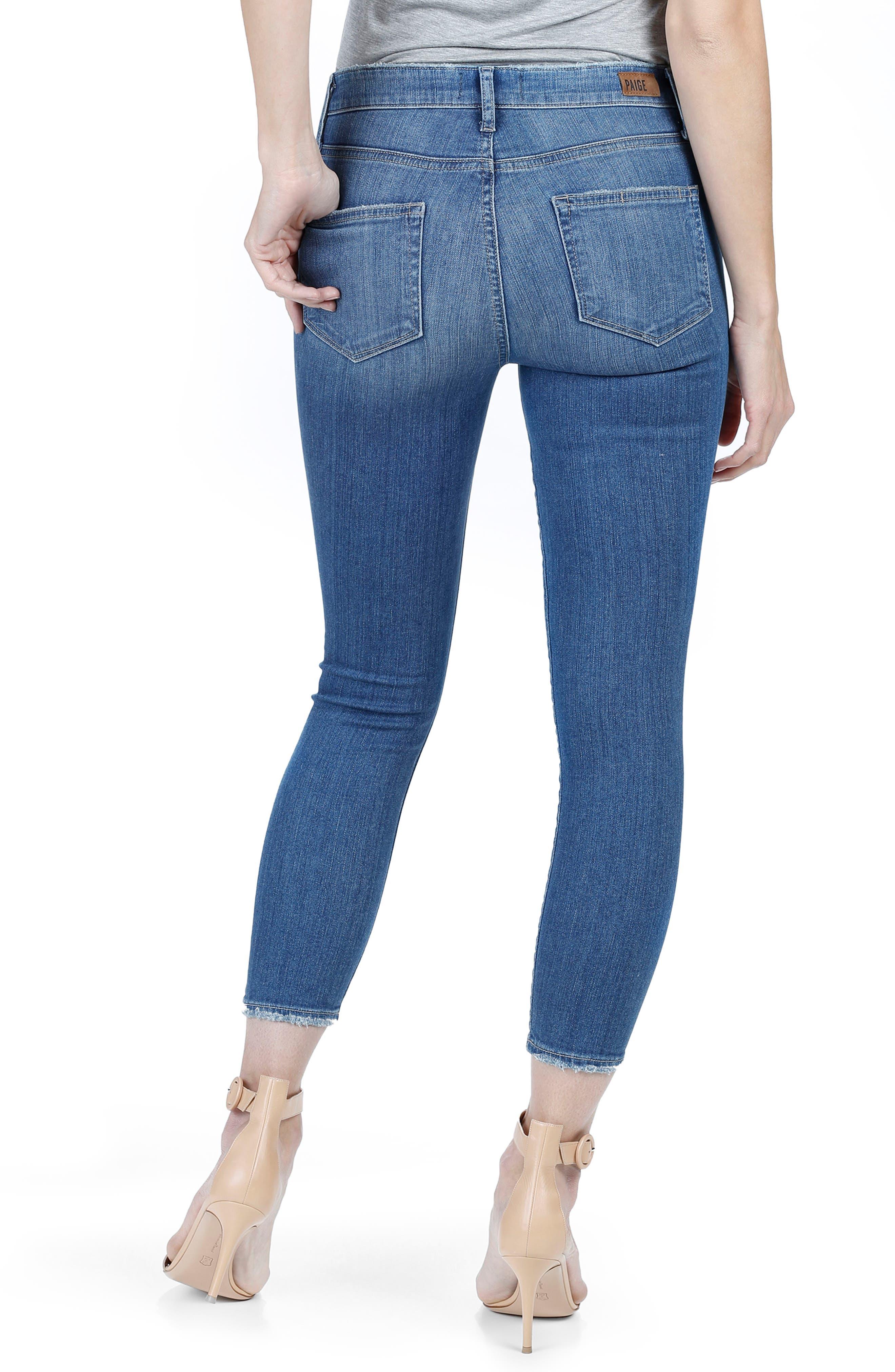 Alternate Image 2  - PAIGE Verdugo Ultra Skinny Jeans (Evelina)