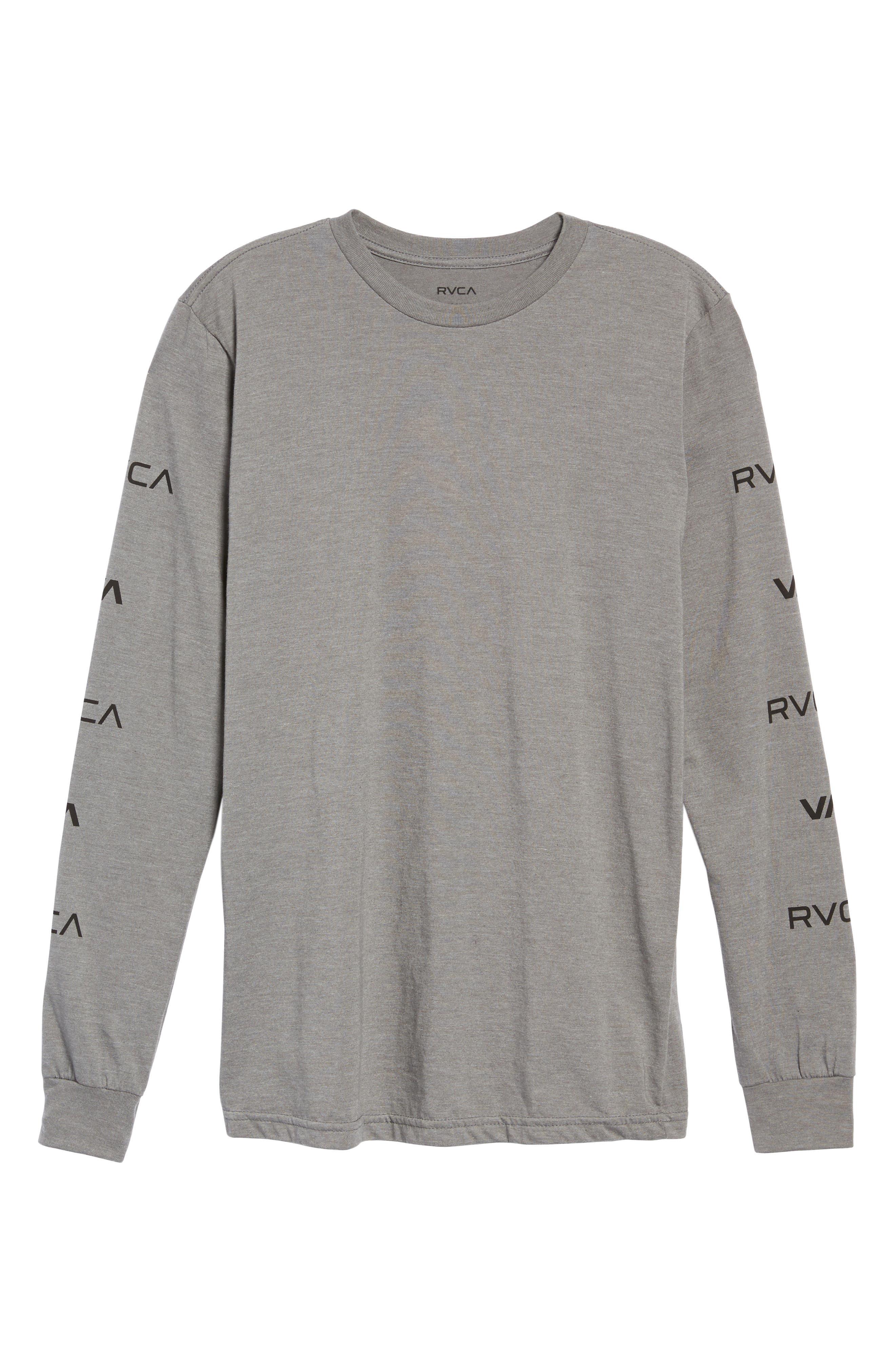 Alternate Image 6  - RVCA Brand Stack Graphic T-Shirt