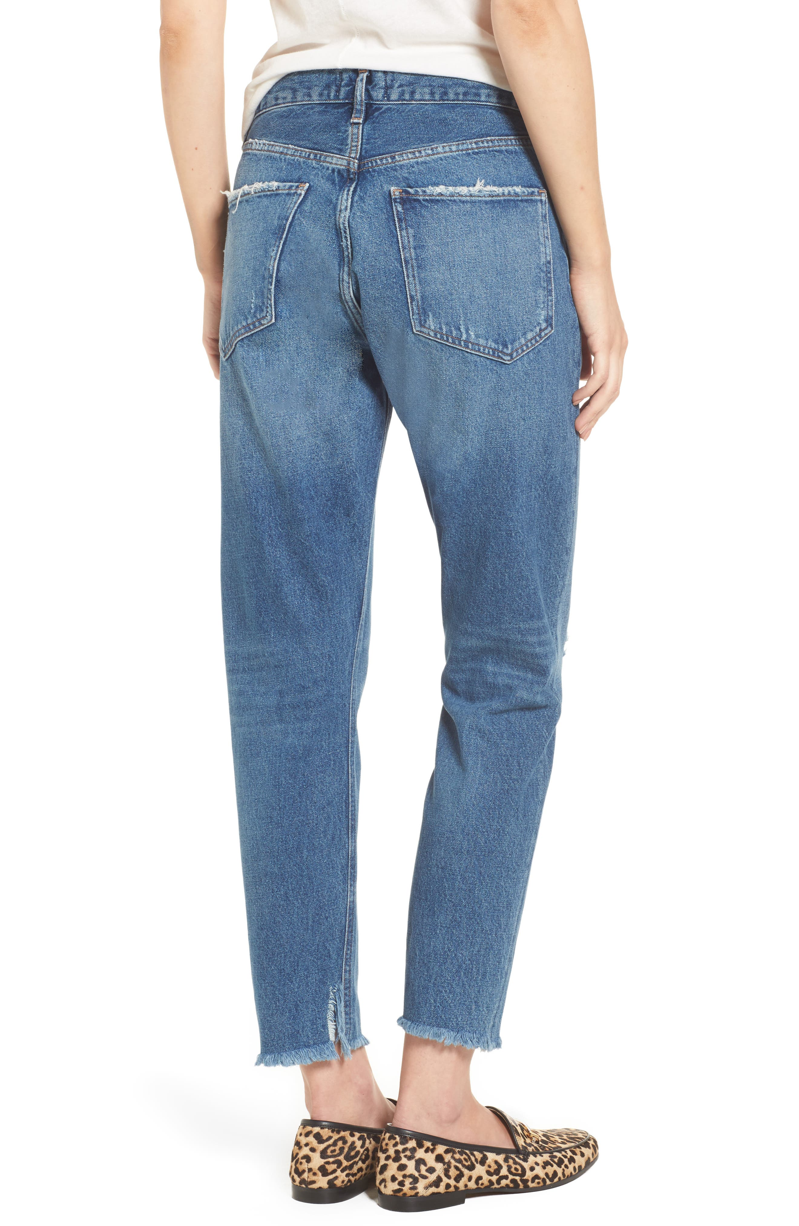 Alternate Image 2  - AGOLDE Jamie High Rise Classic Jeans (Lowdown)