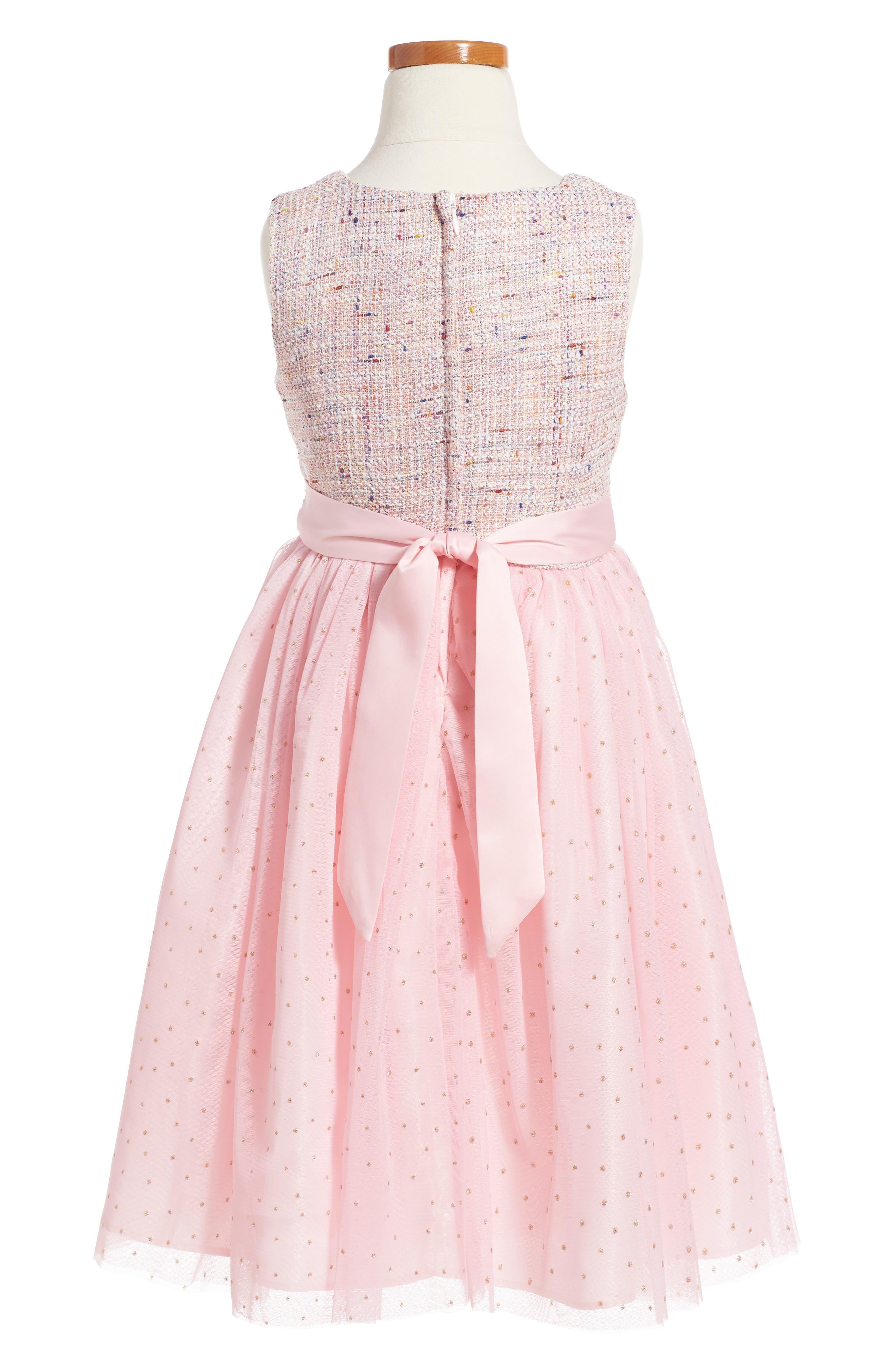 Samantha Dress,                             Alternate thumbnail 2, color,                             Pink