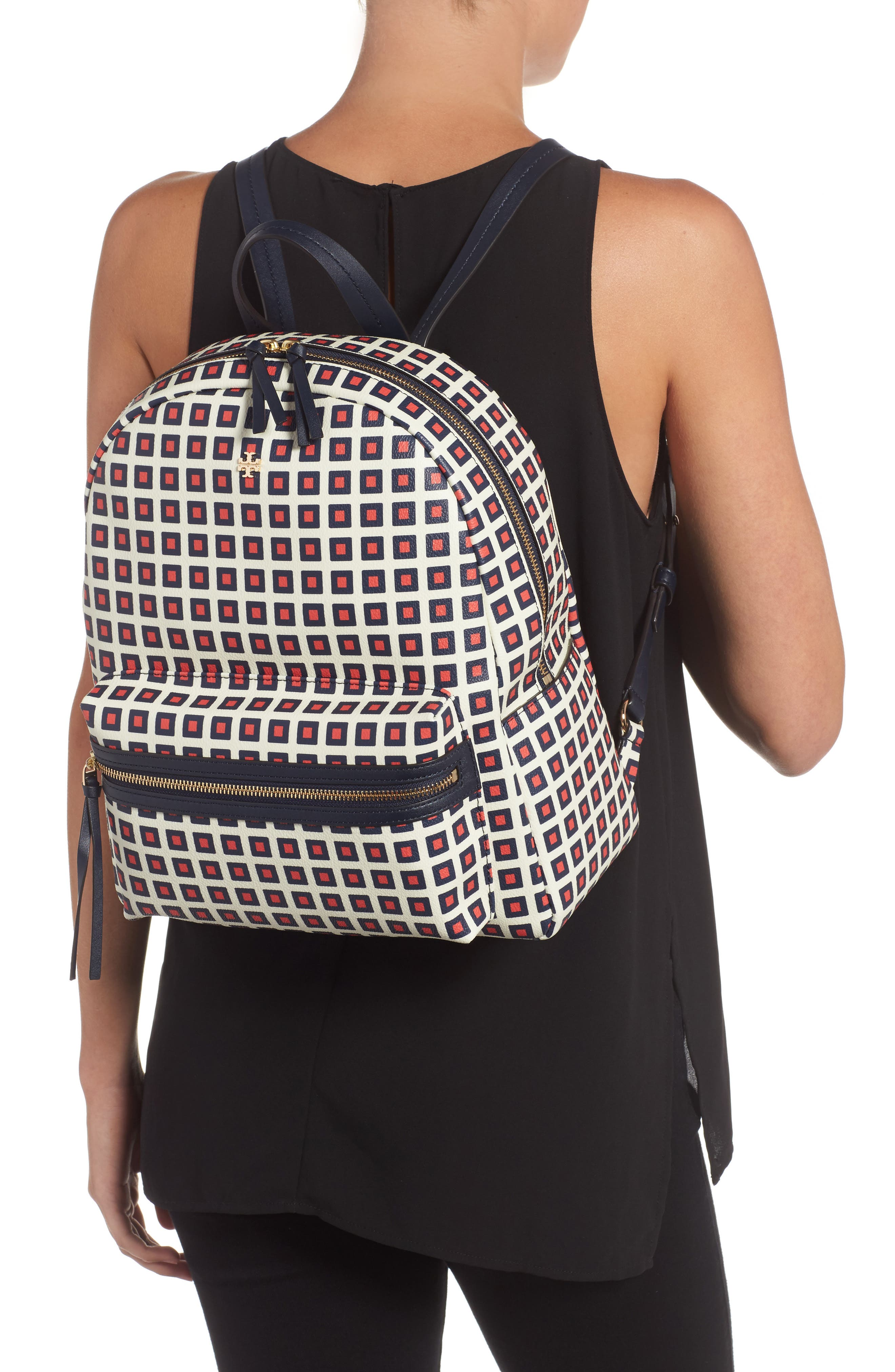 Alternate Image 2  - Tory Burch Kerrington Faux Leather Backpack