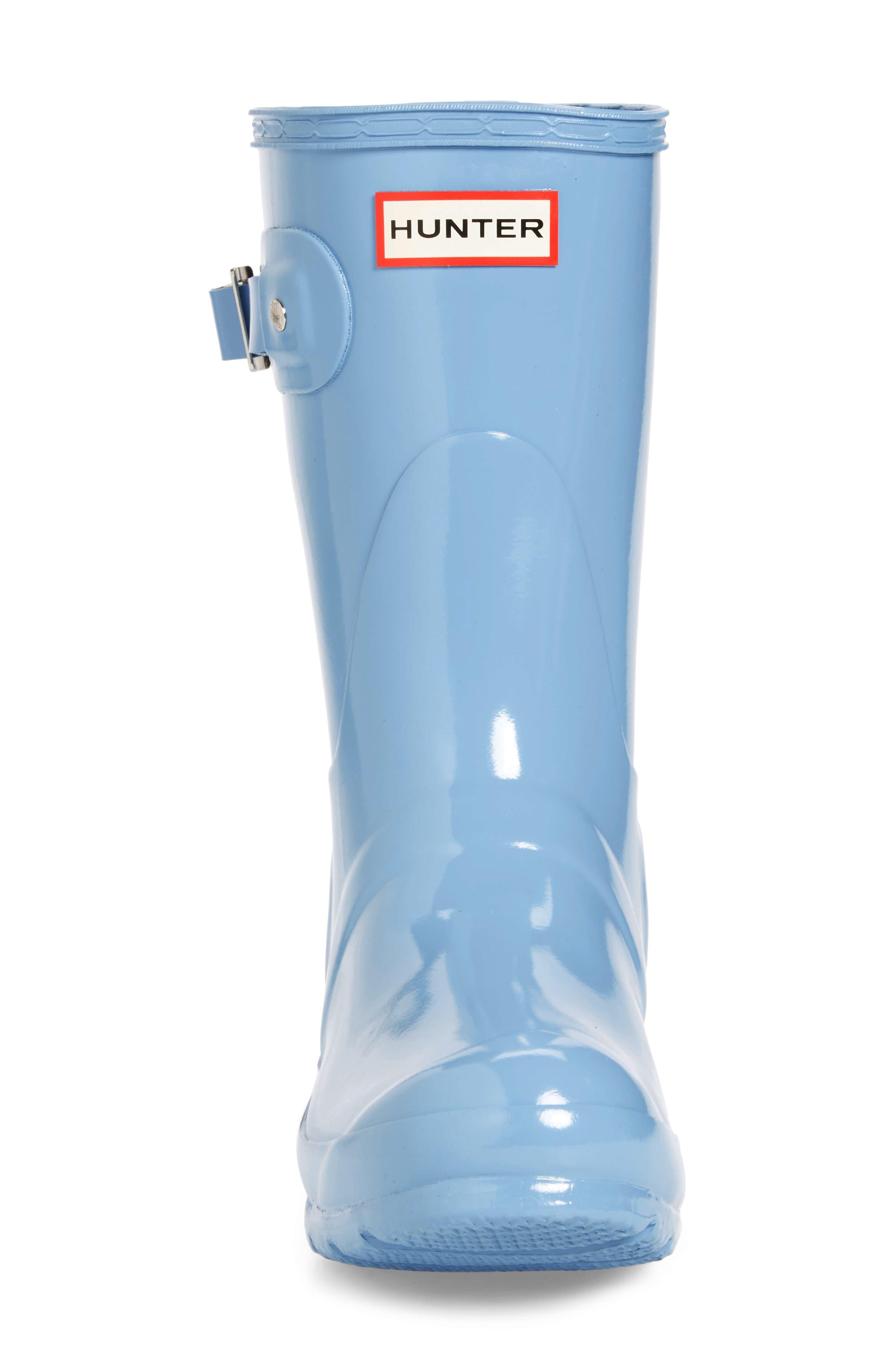 Alternate Image 4  - Hunter 'Original Short' Gloss Rain Boot (Women)