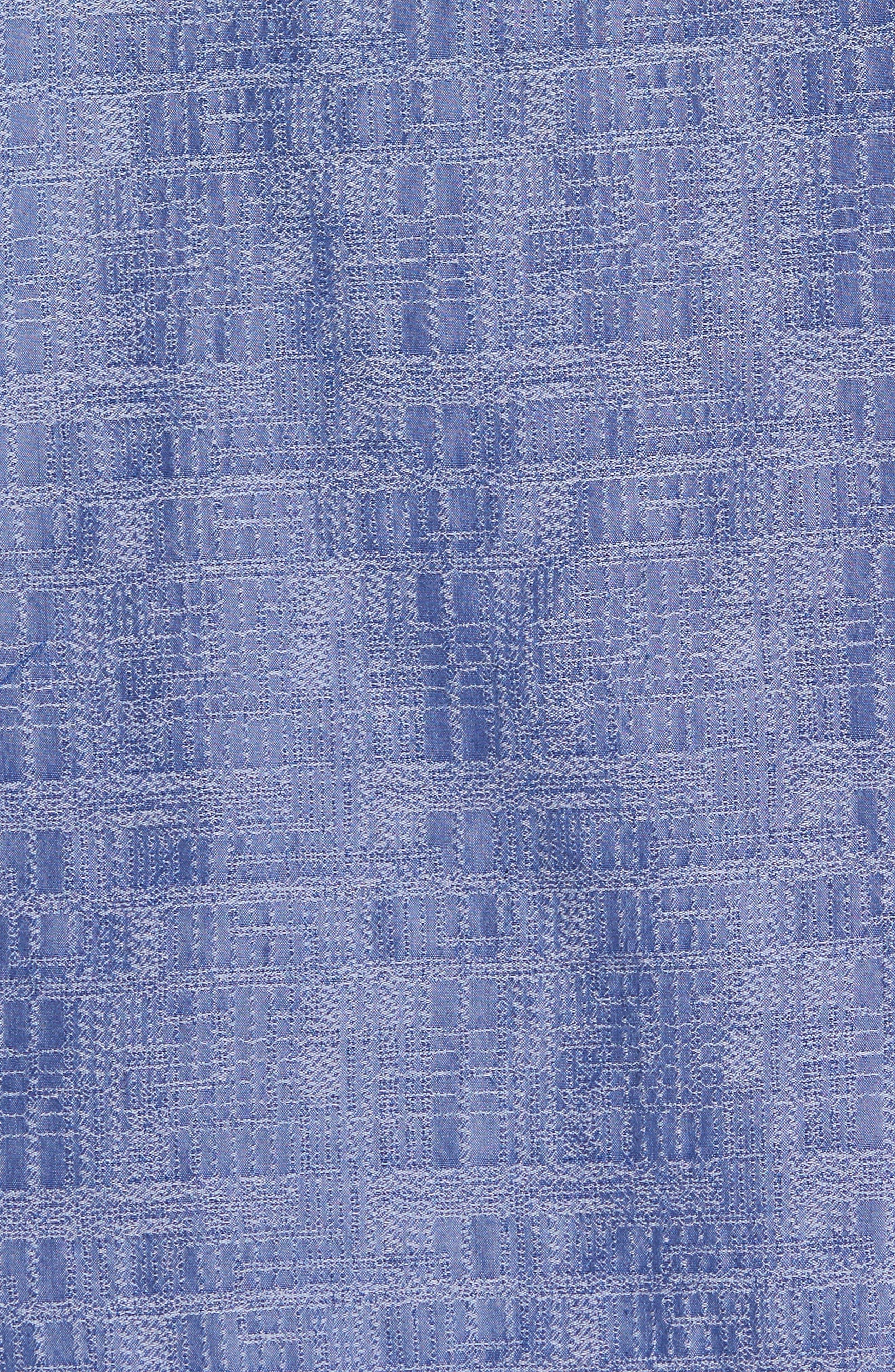 Oceanside Woven Shirt,                             Alternate thumbnail 5, color,                             Sanibel Blue