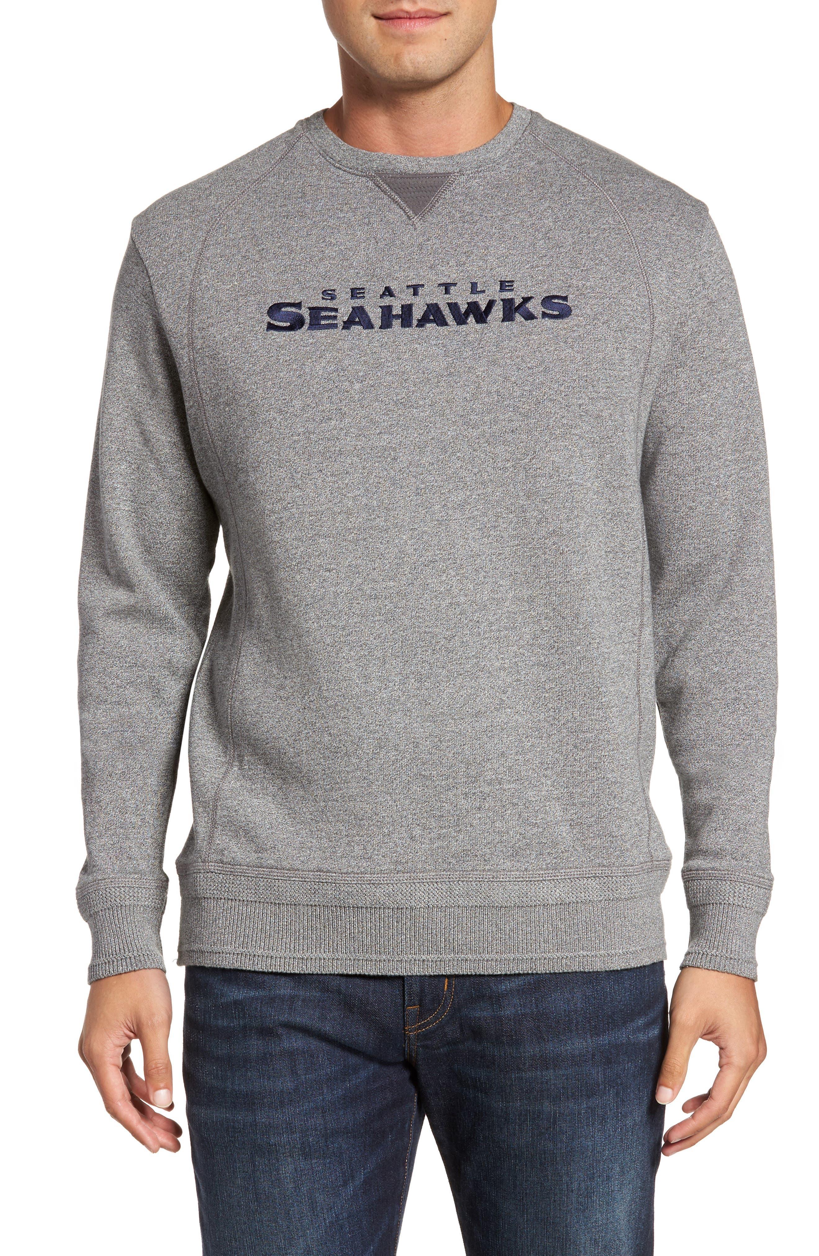 Main Image - Tommy Bahama NFL Stitch of Liberty Embroidered Crewneck Sweatshirt