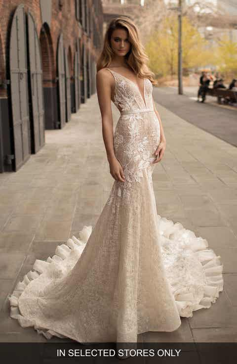 Women 39 s wedding dresses bridal gowns nordstrom for Best stores for dresses for weddings