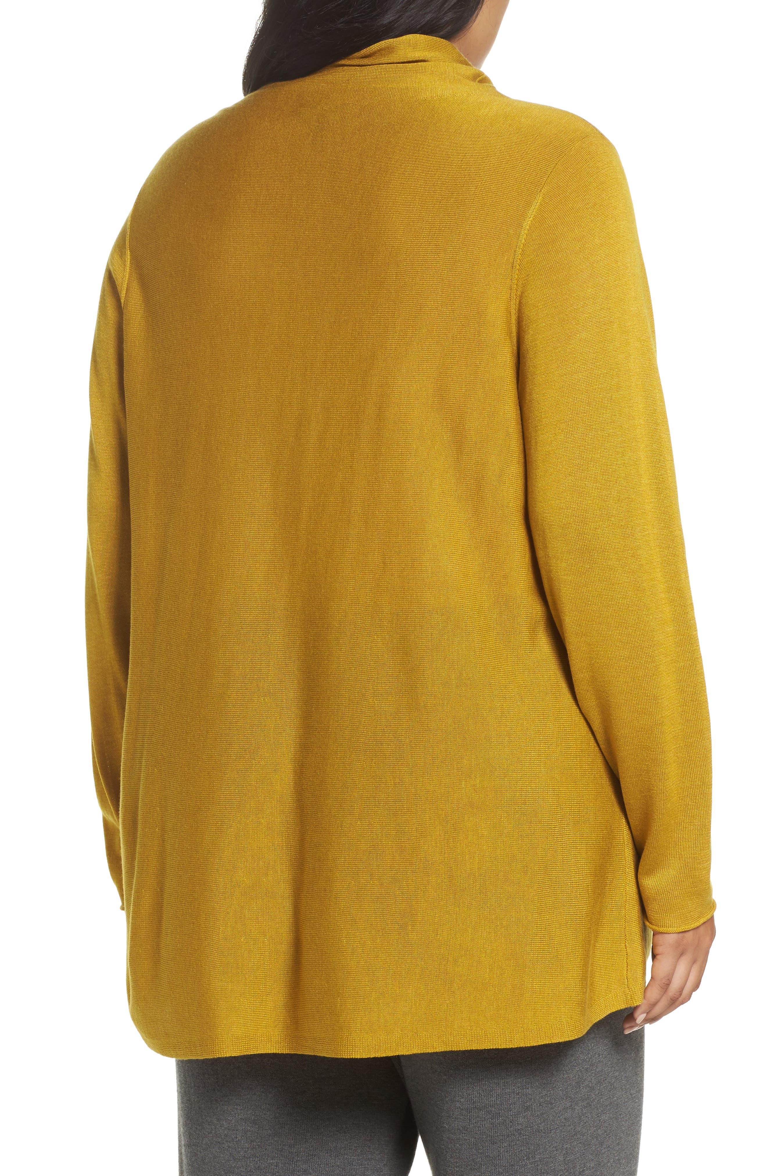 Alternate Image 2  - Eileen Fisher Scrunch Turtleneck Sweater (Plus Size)