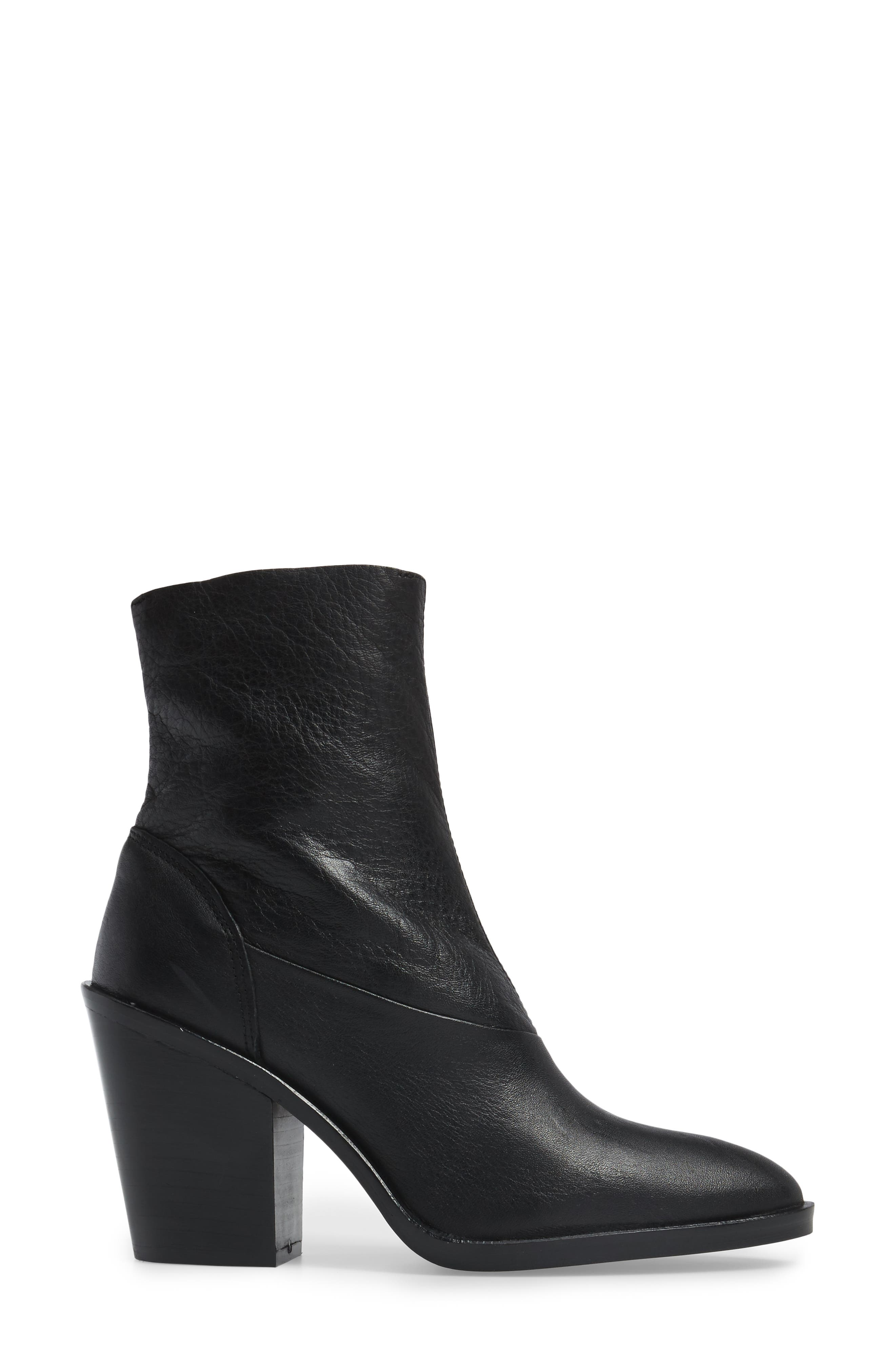 May Sock Bootie,                             Alternate thumbnail 2, color,                             Black