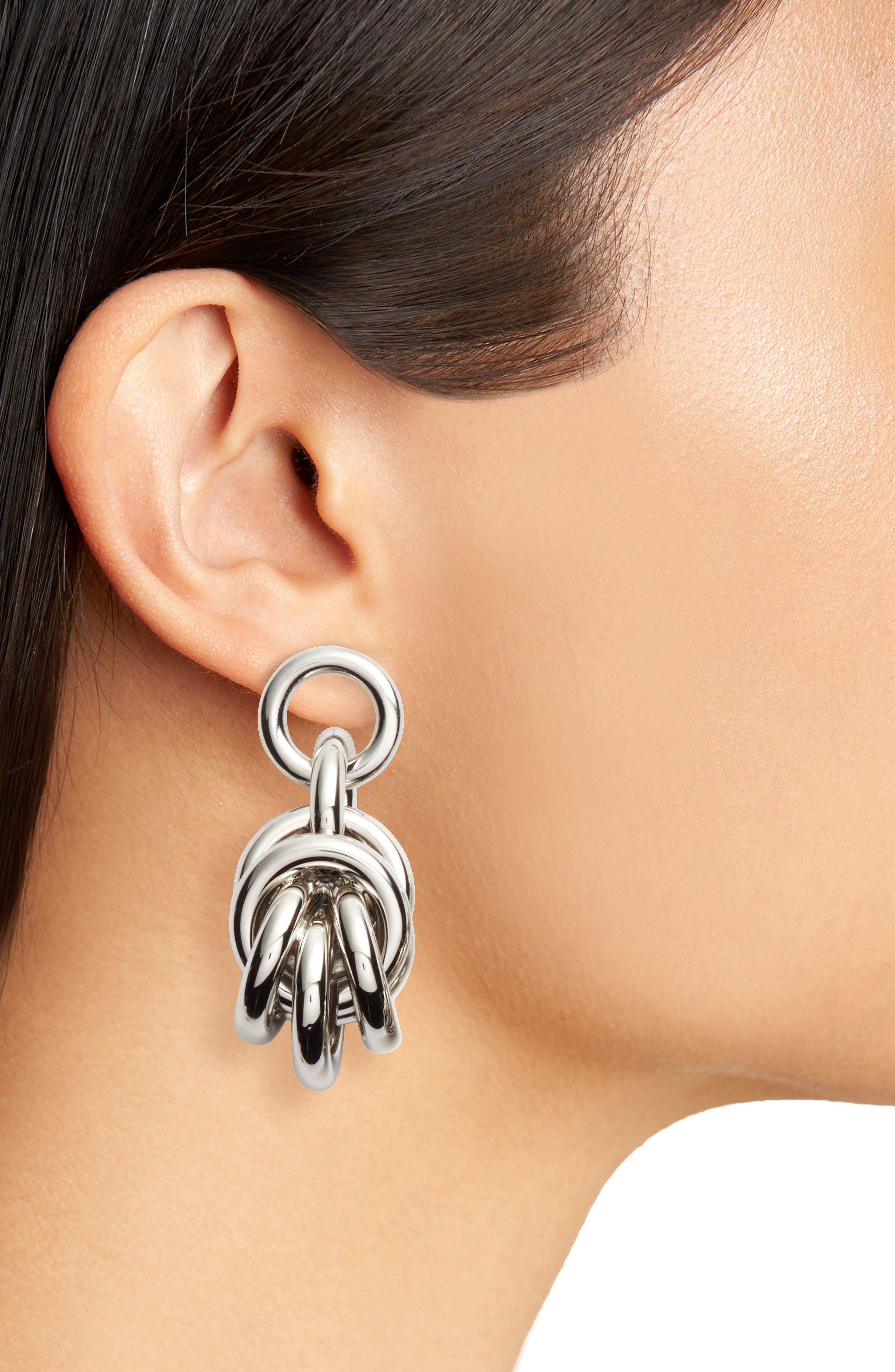 Alternate Image 2  - Alexander Wang Knot Drop Earrings