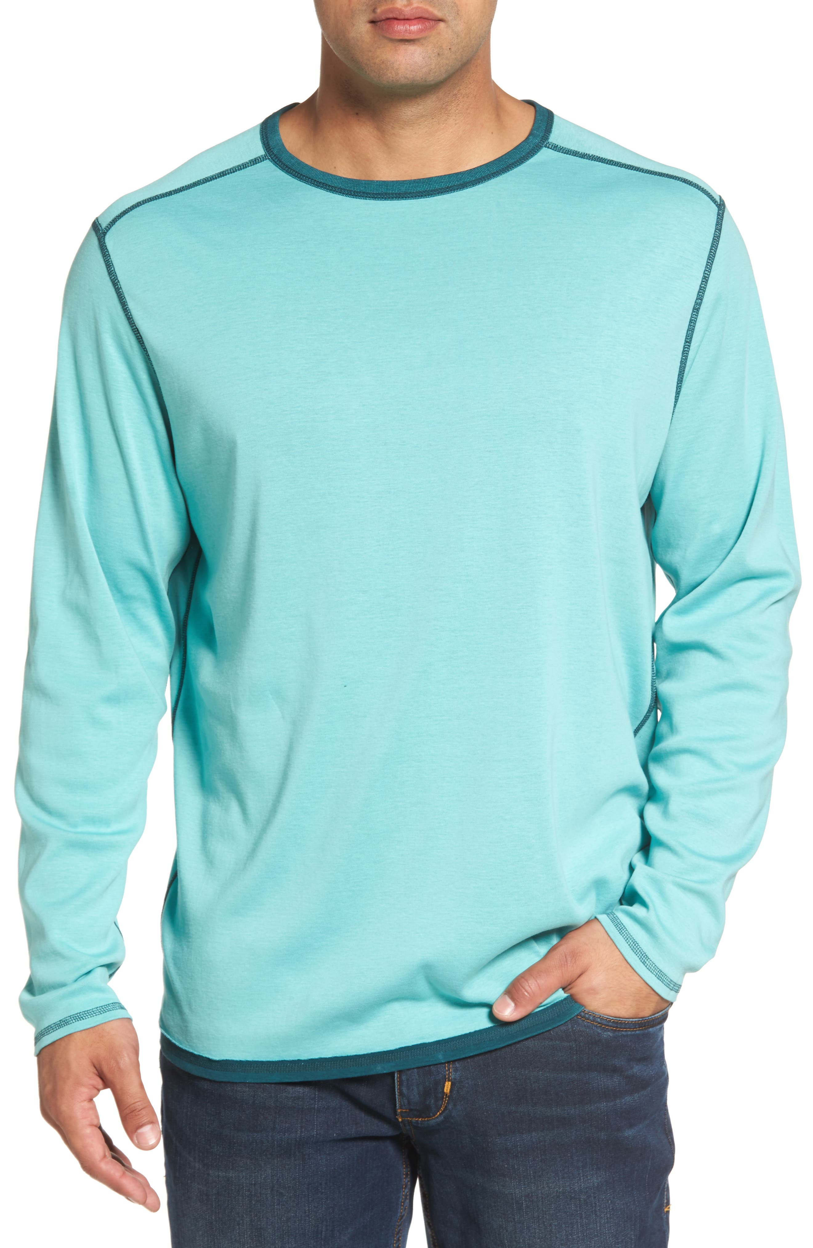 Alternate Image 4  - Tommy Bahama Dual in the Sun Reversible T-Shirt