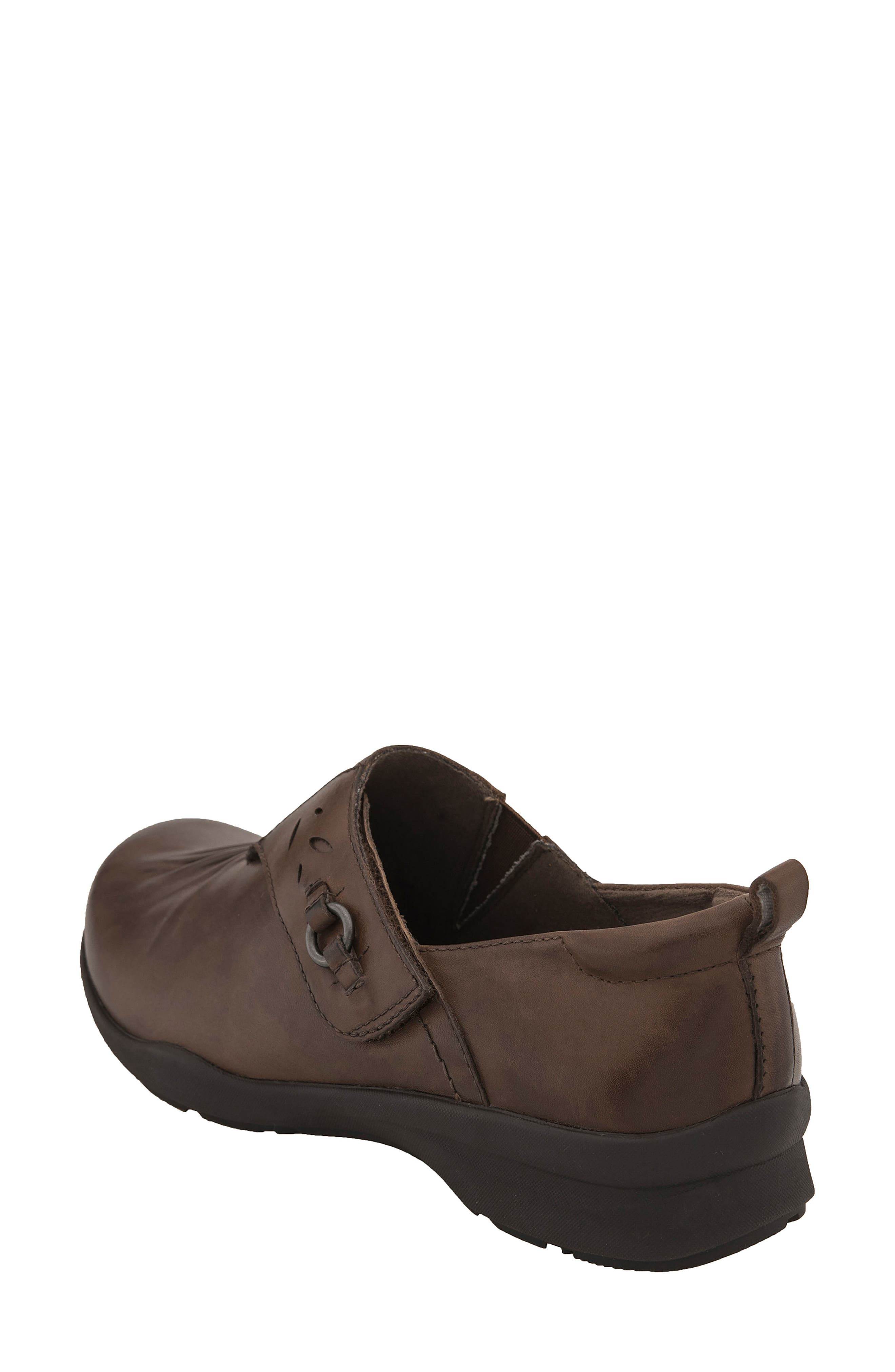 Amity Loafer,                             Alternate thumbnail 2, color,                             Almond Leather