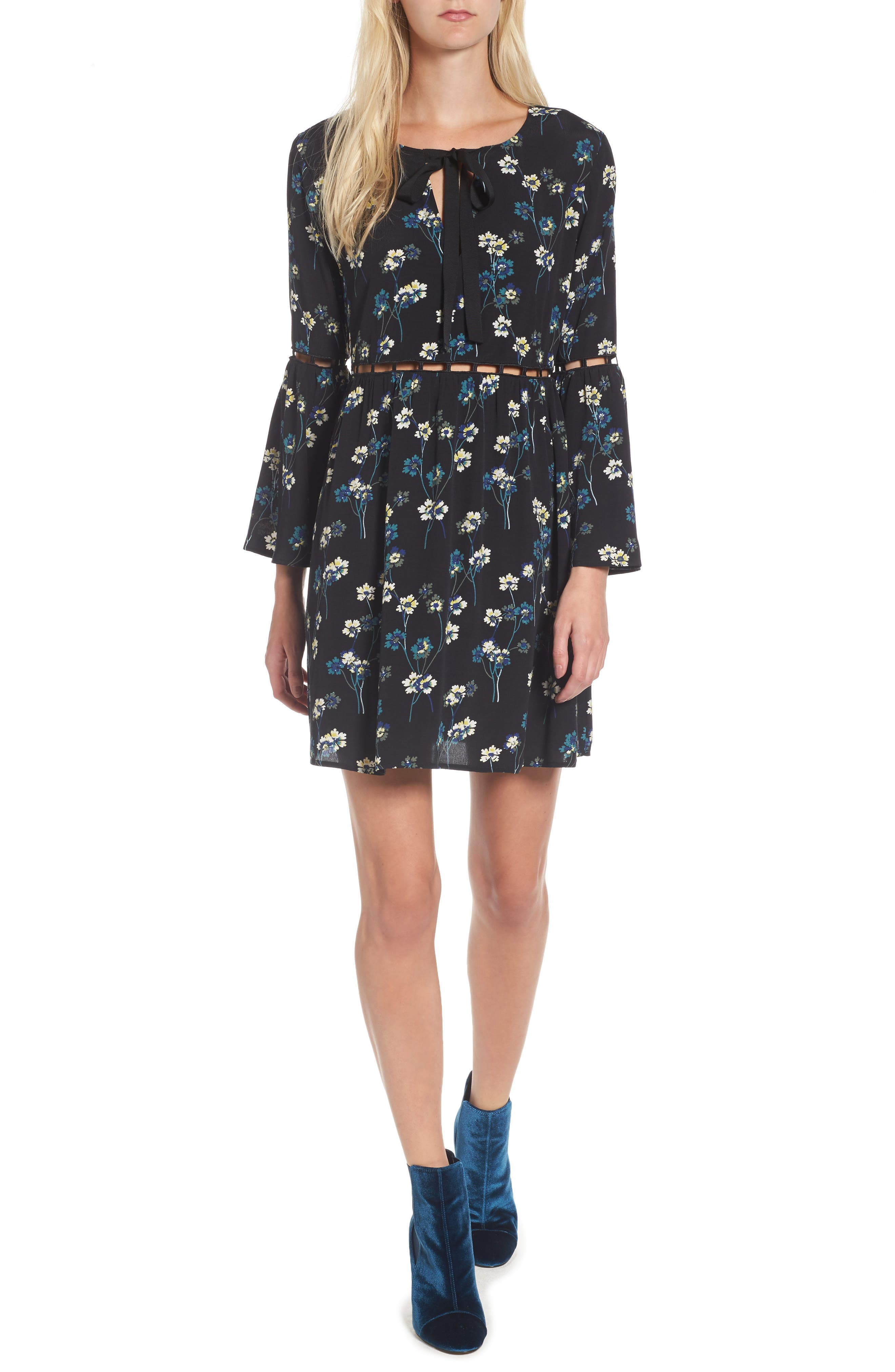 Main Image - Ella Moss Adara Floral Dress