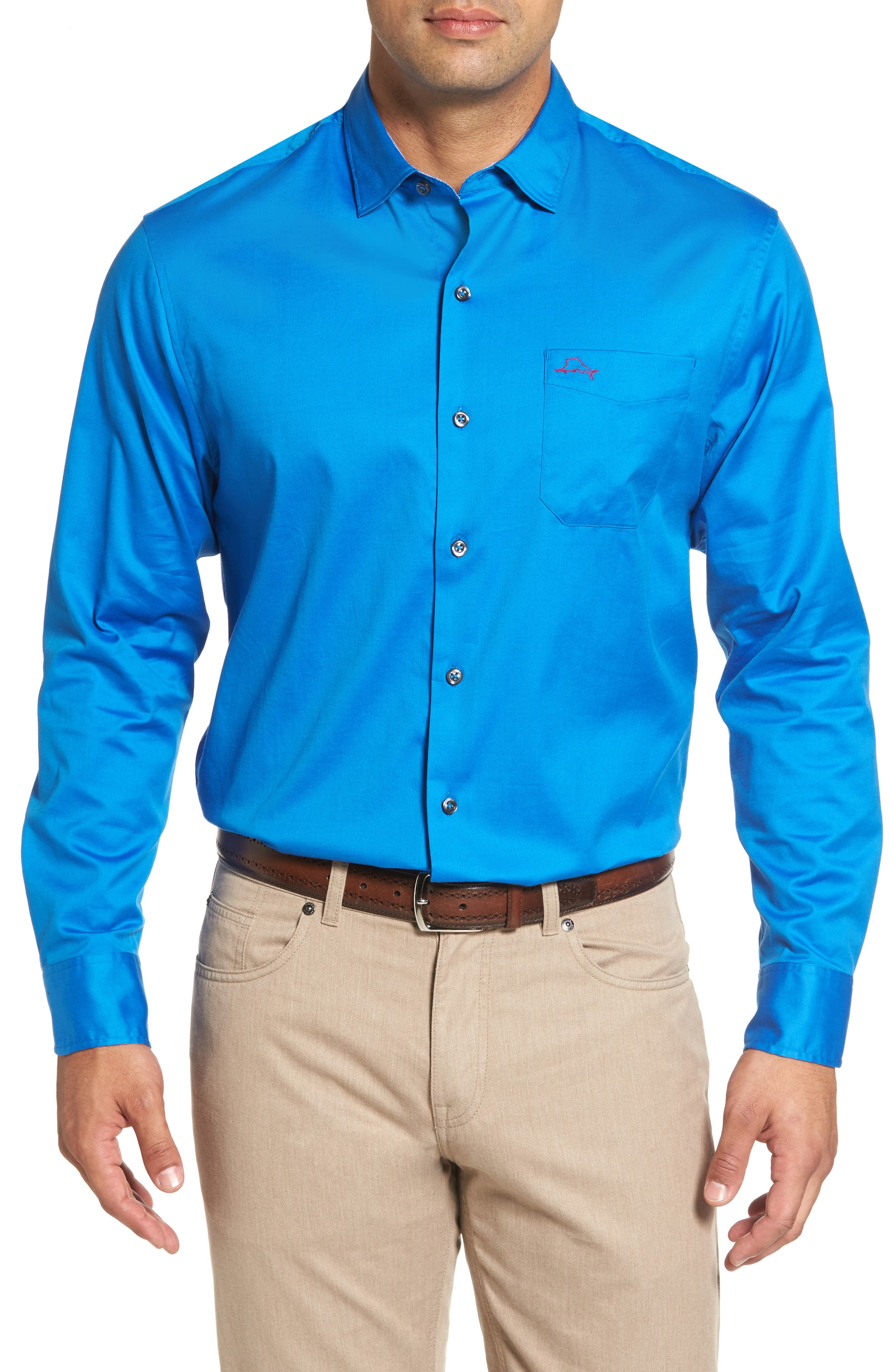 Main Image - Tommy Bahama Oasis Twill Sport Shirt