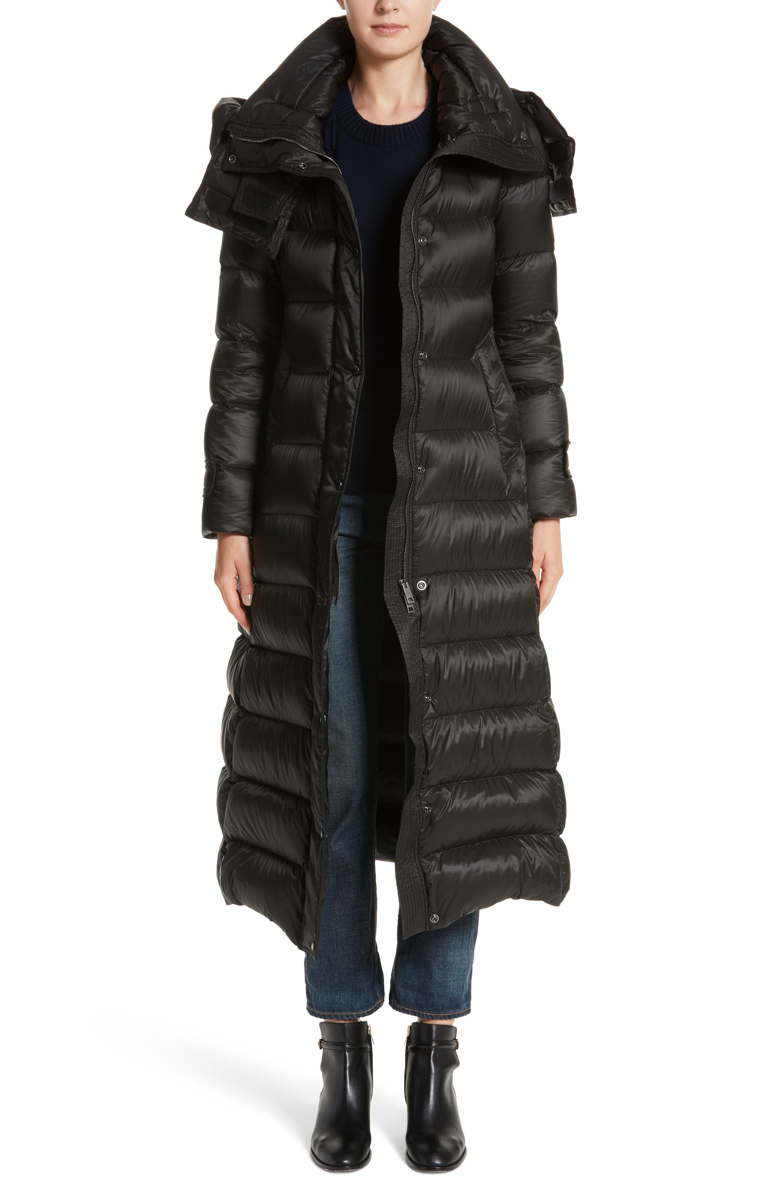 Burberry Kanefield Puffer Coat with Removable Hood