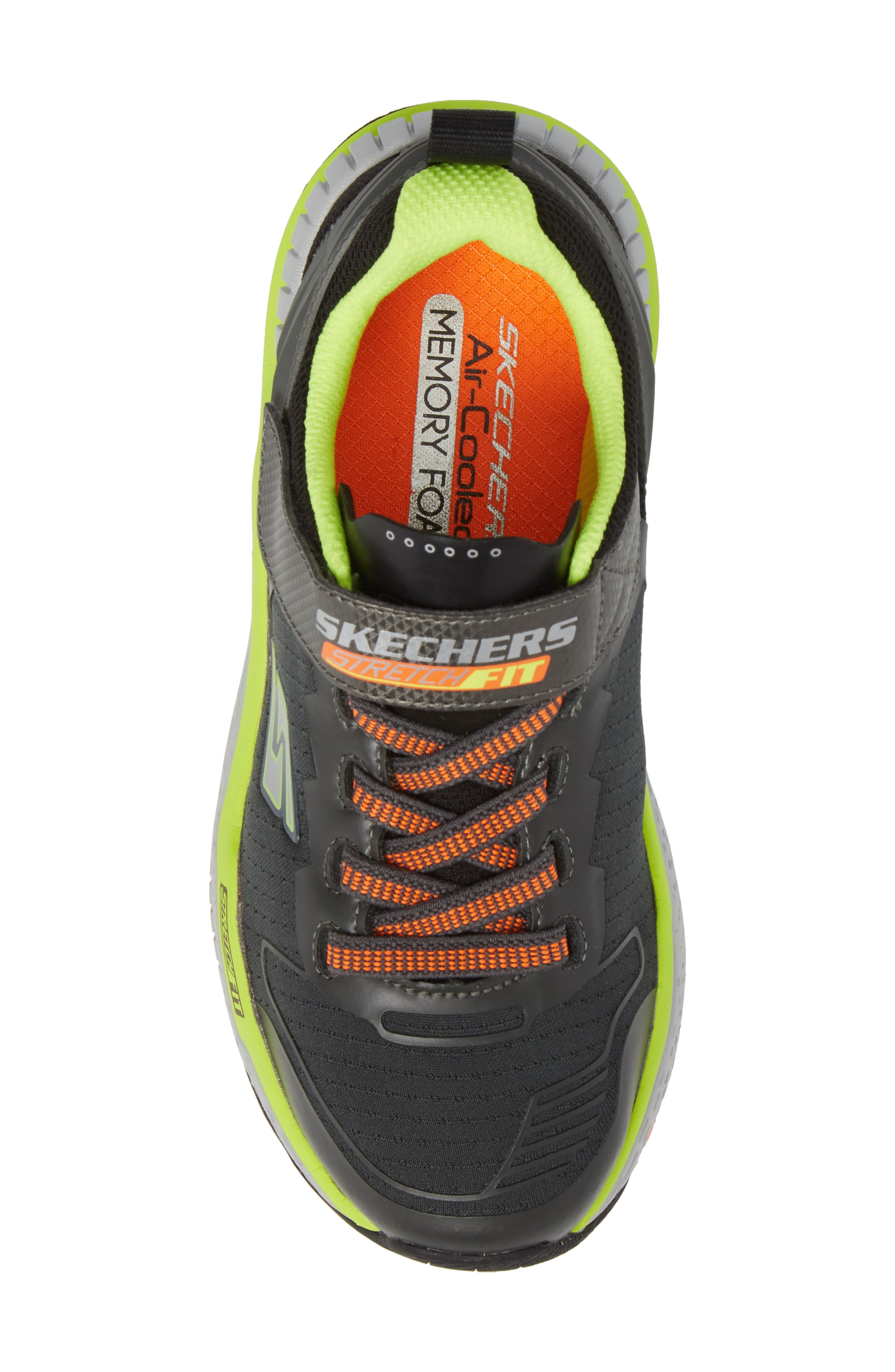 Hyperjolt Sneaker,                             Alternate thumbnail 5, color,                             Charcoal/ Black/ Lime
