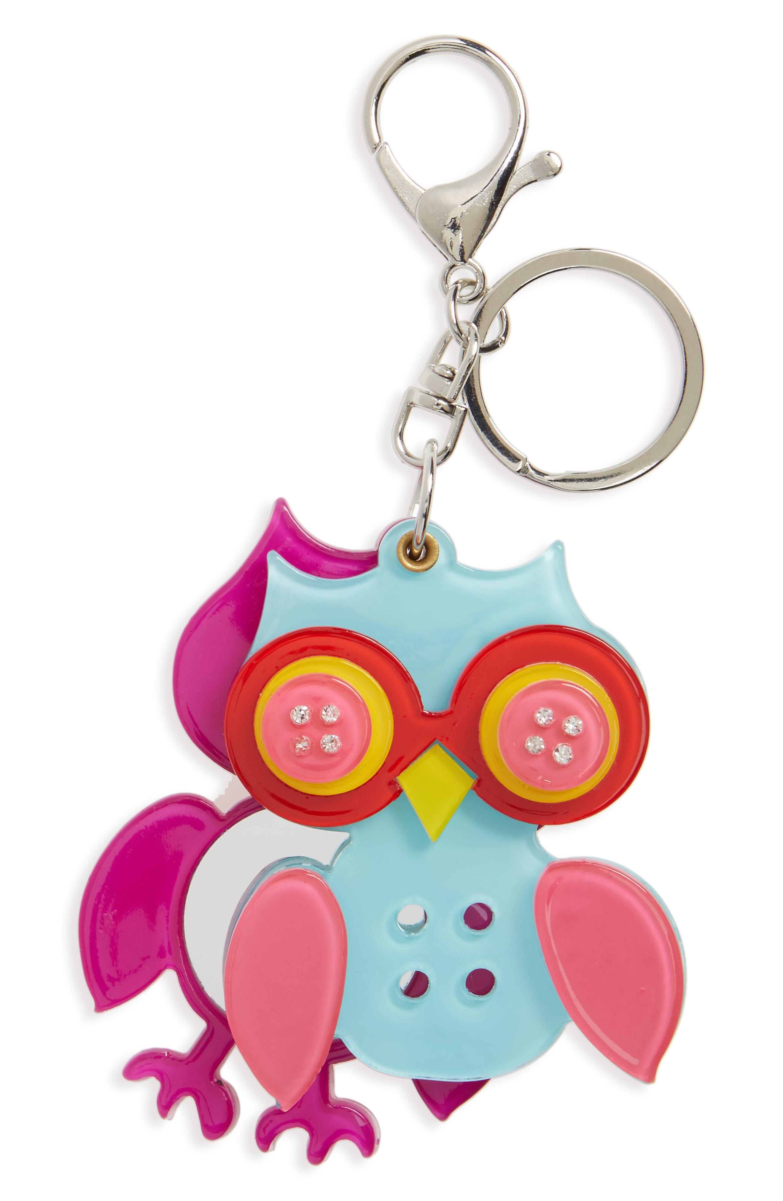 Main Image - Cara Owl Key Chain