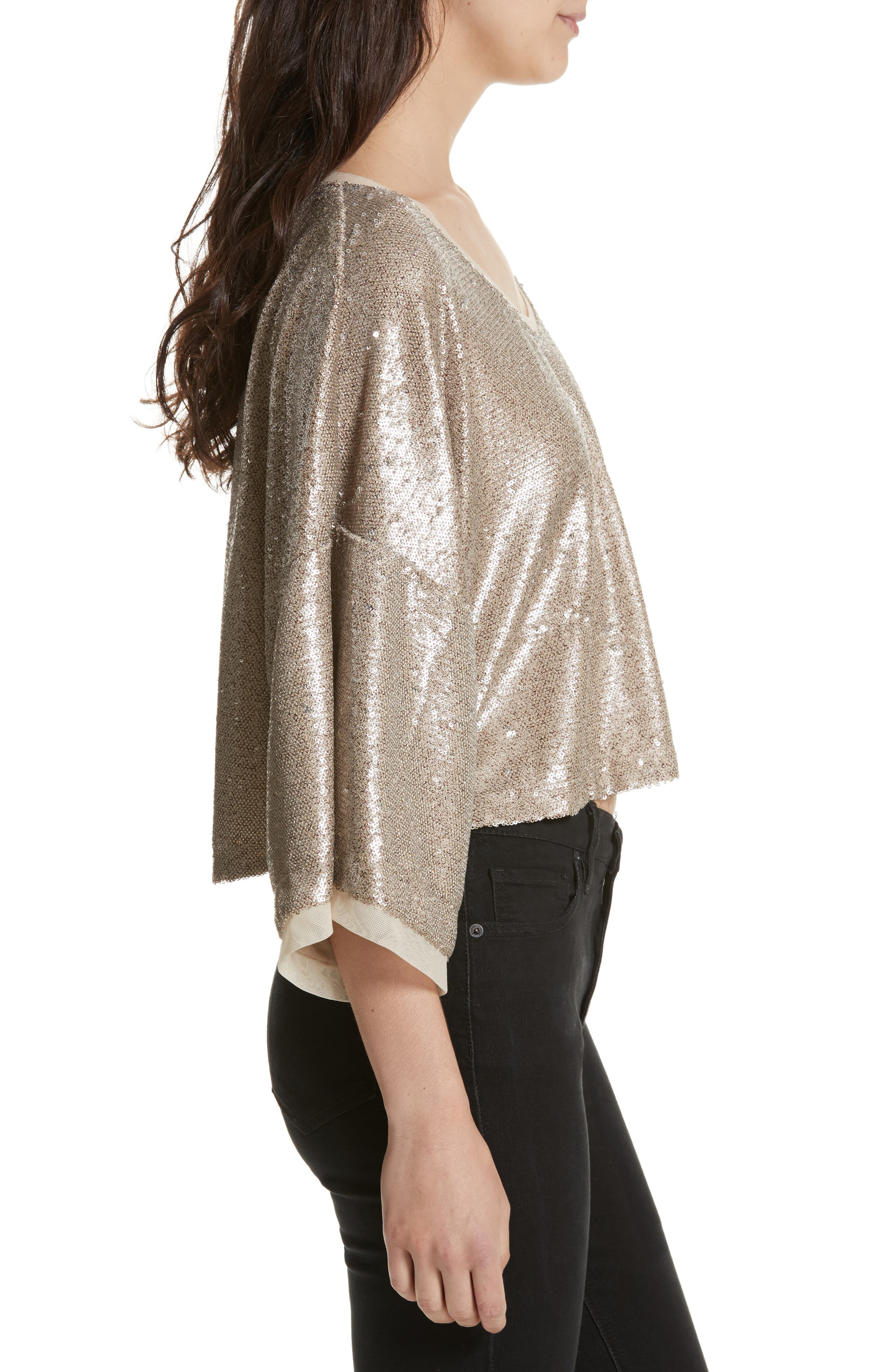 Alternate Image 3  - Free People Champagne Dreams Top