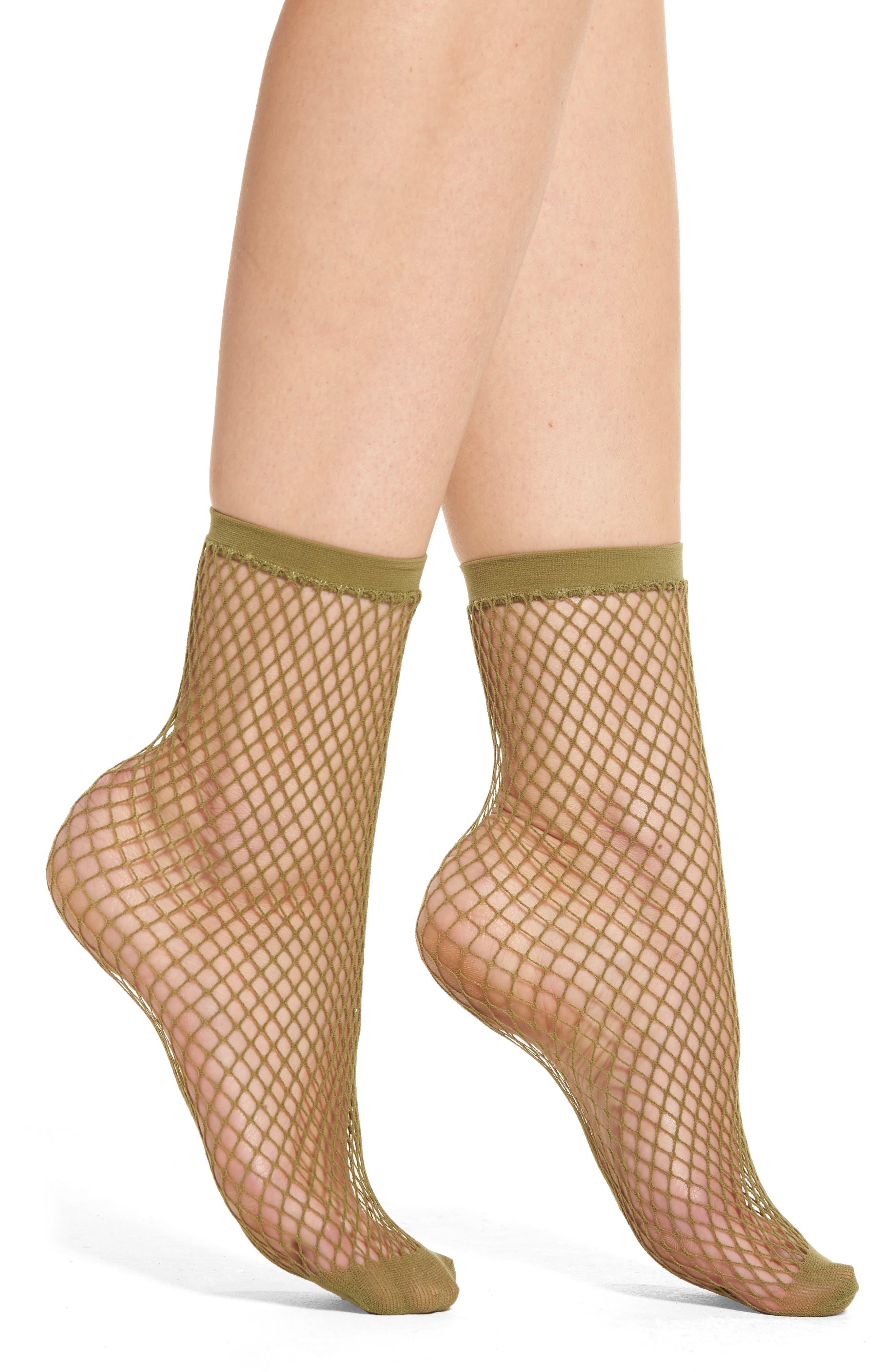 Nordstrom Hexagon Ankle Socks