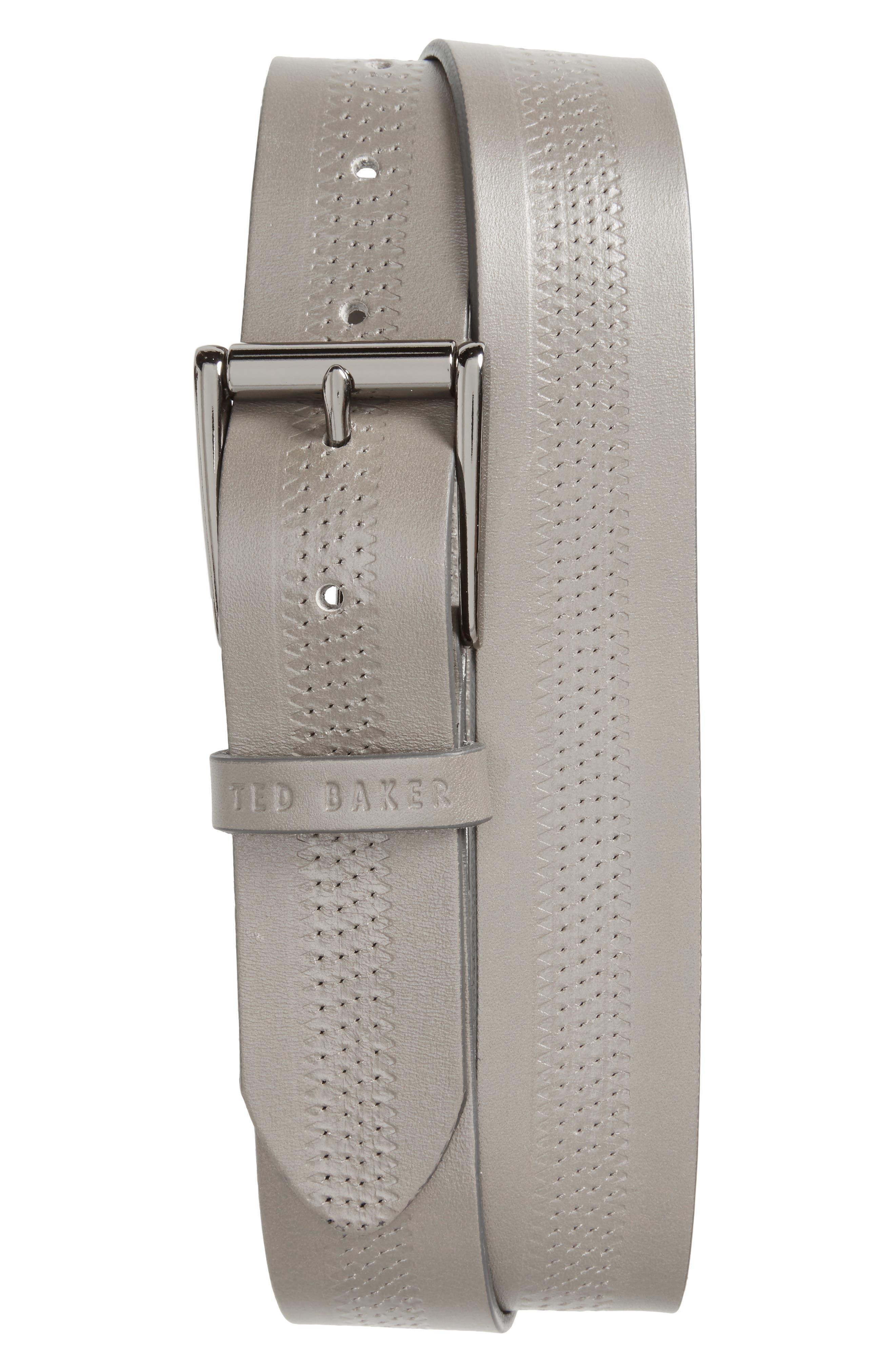 Main Image - Ted Baker London Brambel Leather Belt