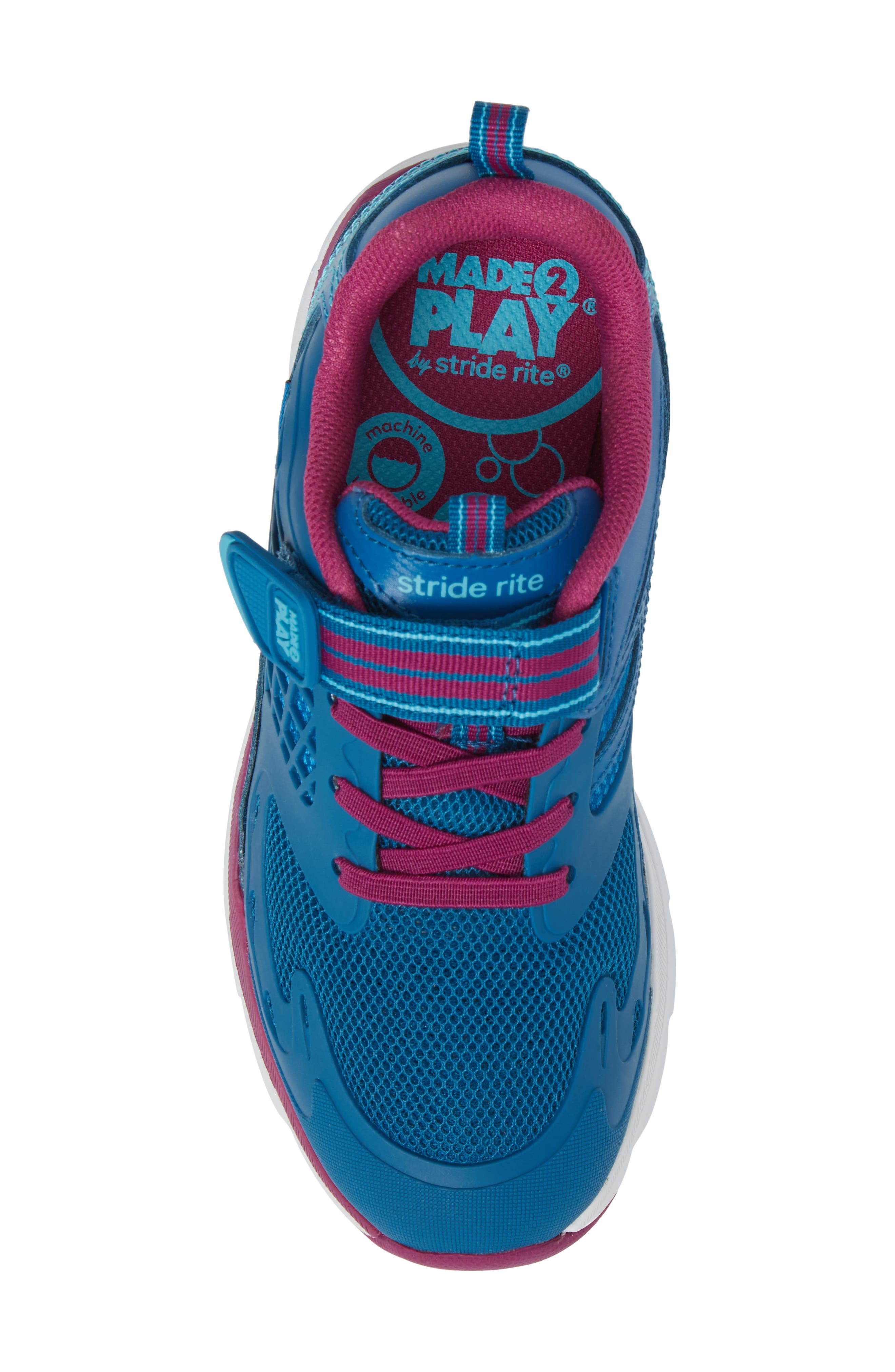 Alternate Image 5  - Stride Rite Made 2 Play® Cannan Sneaker (Baby, Walker, Toddler & Little Kid)