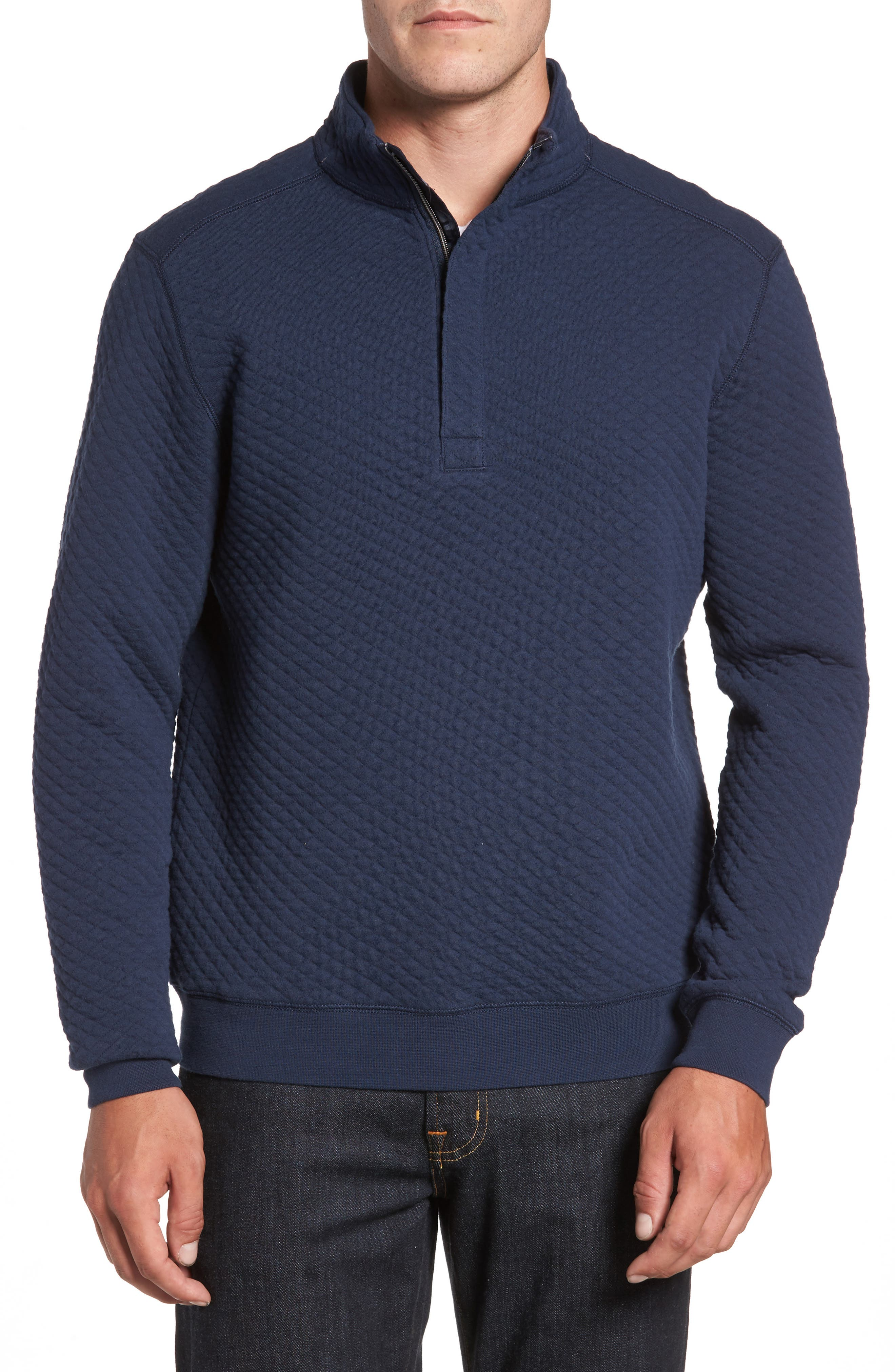 Tommy Bahama Quiltessential Quarter Zip Pullover