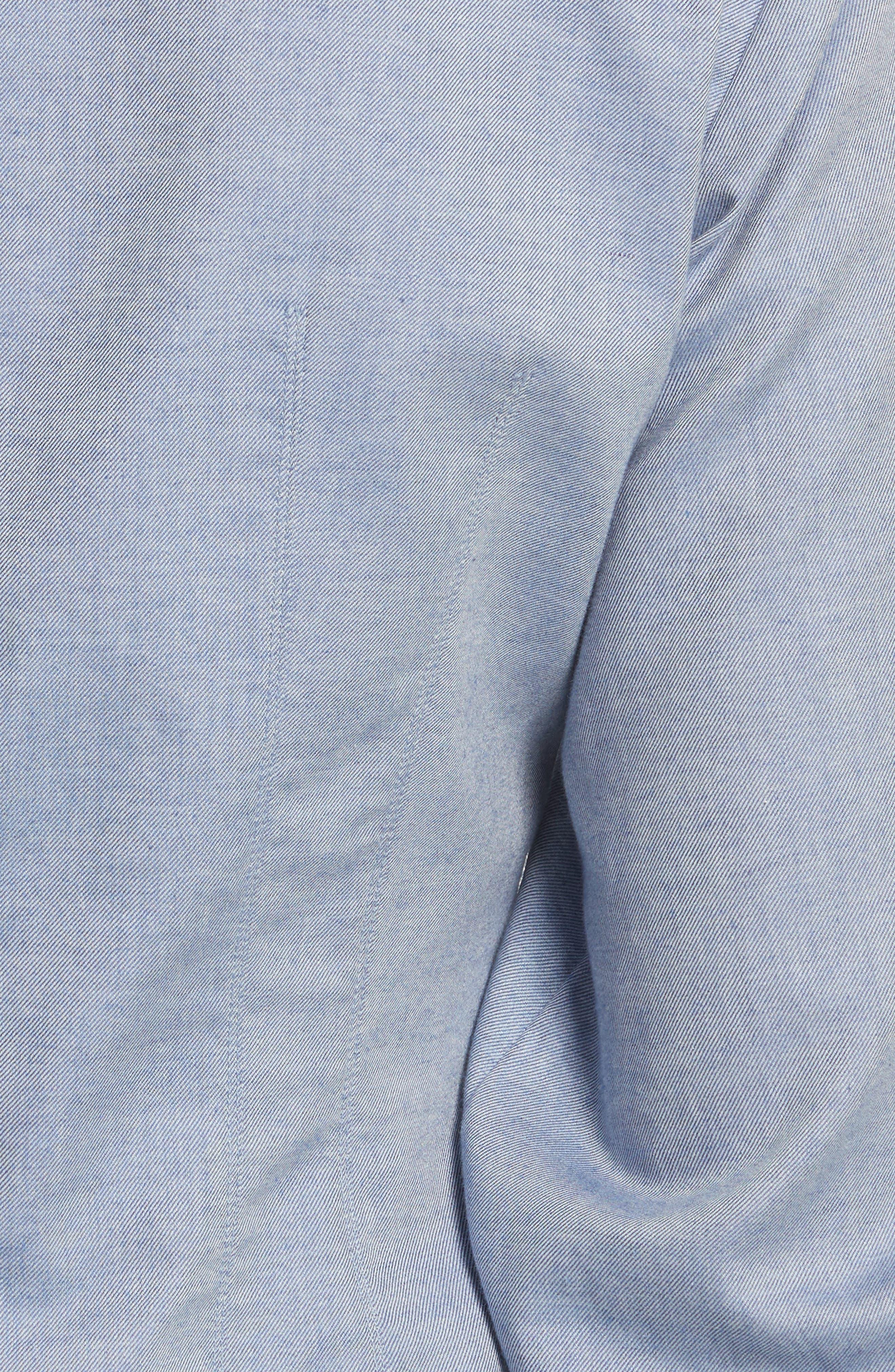Alternate Image 5  - Tibi Corset Ruched Sleeve Top