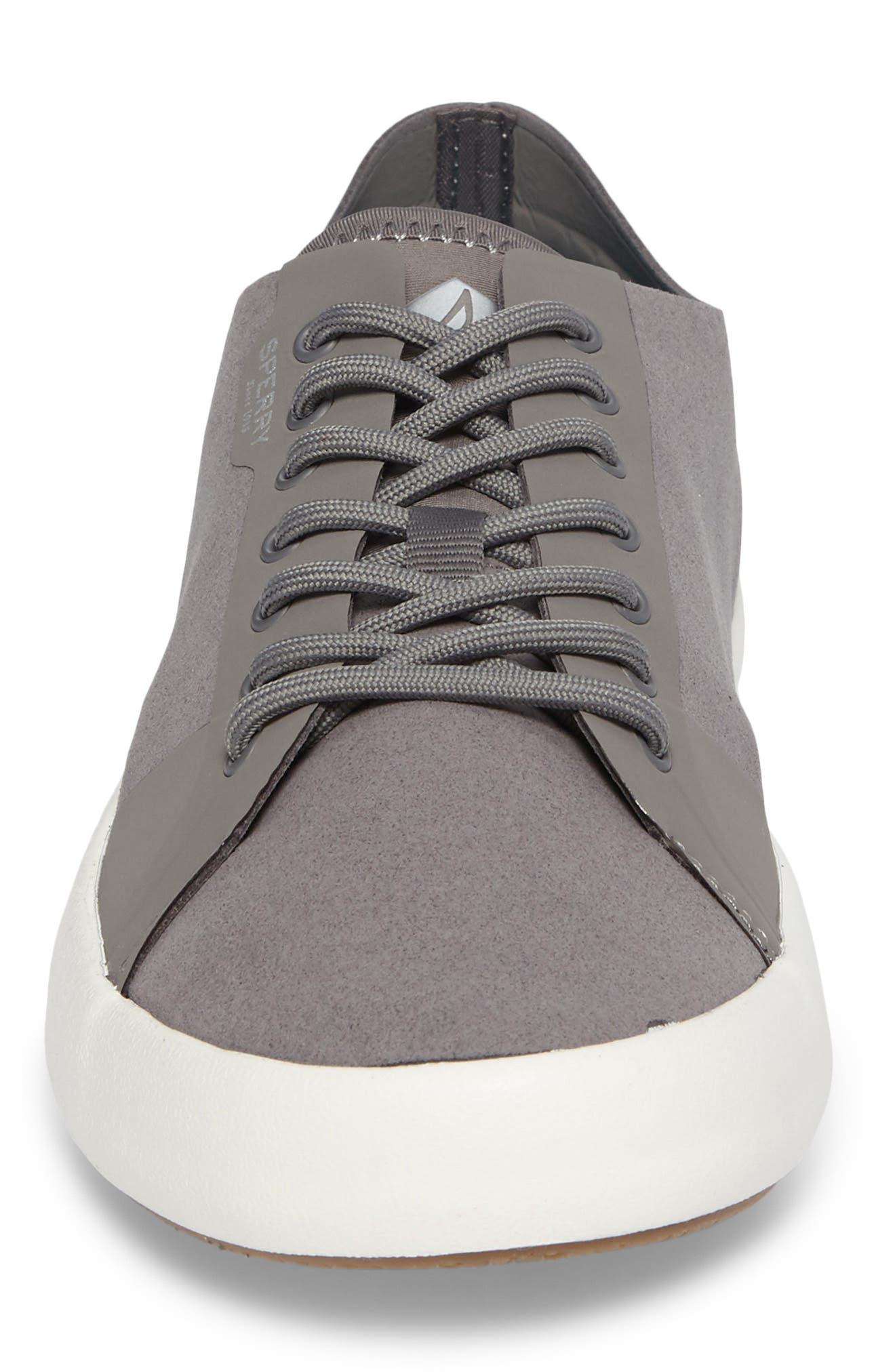 Flex Deck LTT Sneaker,                             Alternate thumbnail 4, color,                             Grey