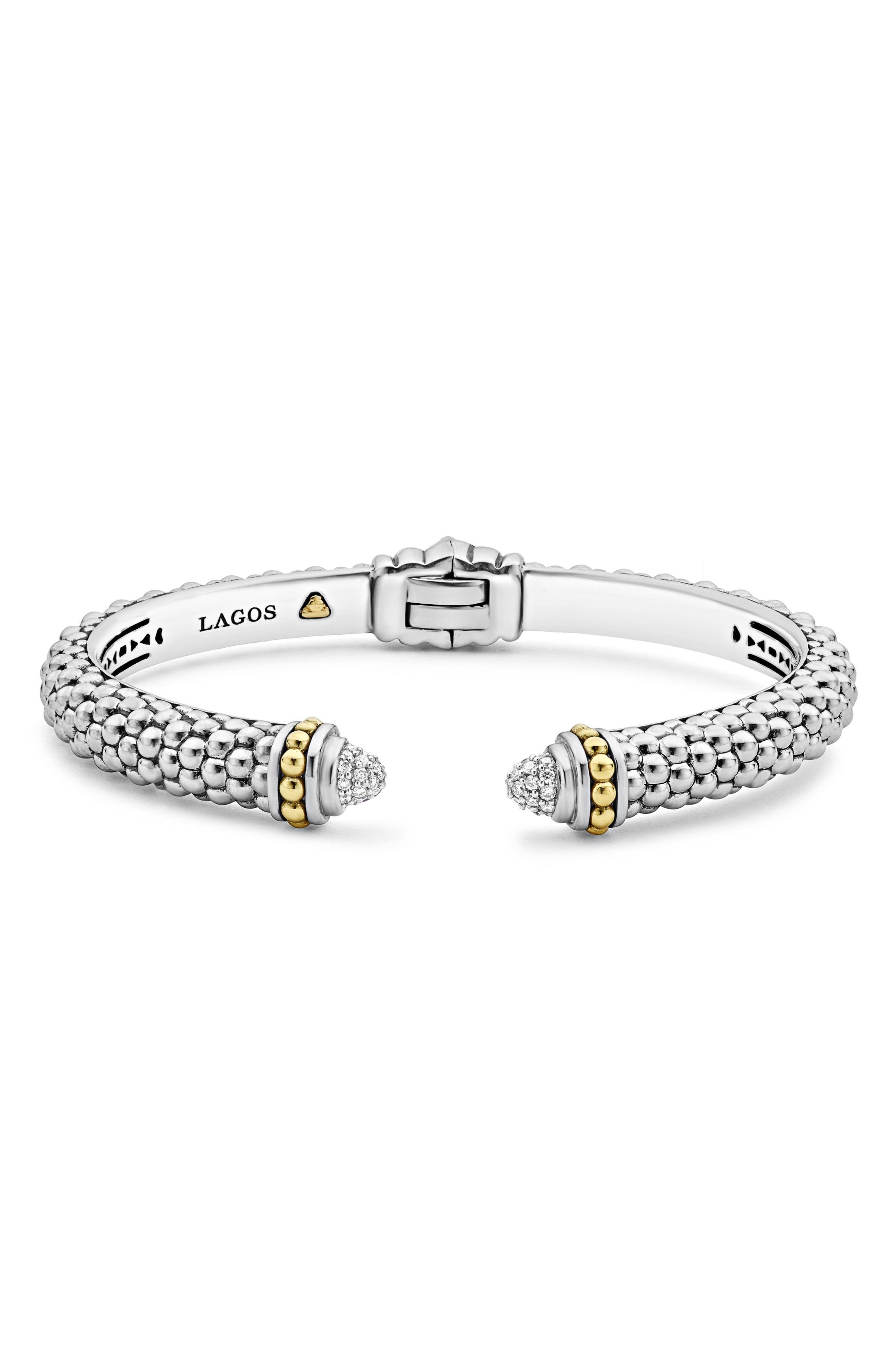 Main Image - LAGOS Diamond Hinge Cuff