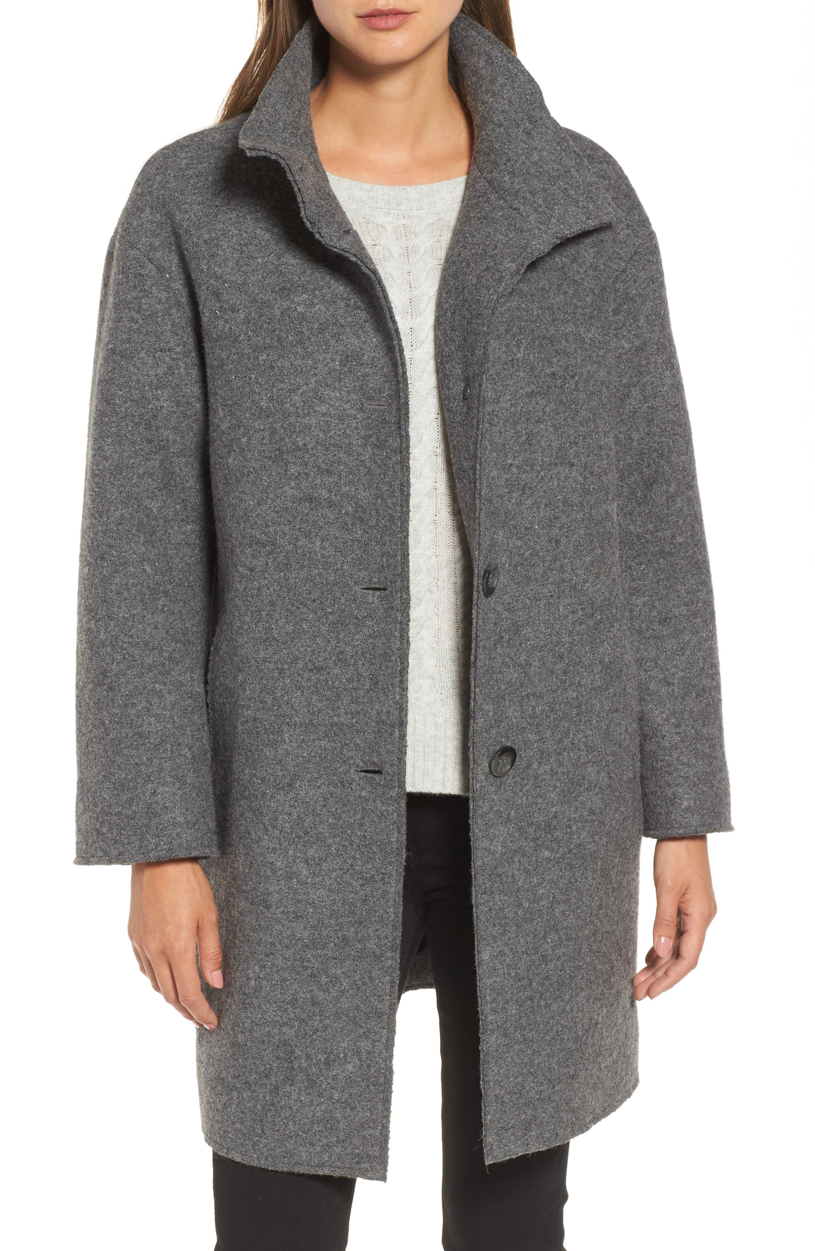 Halogen® Wool Blend Coat